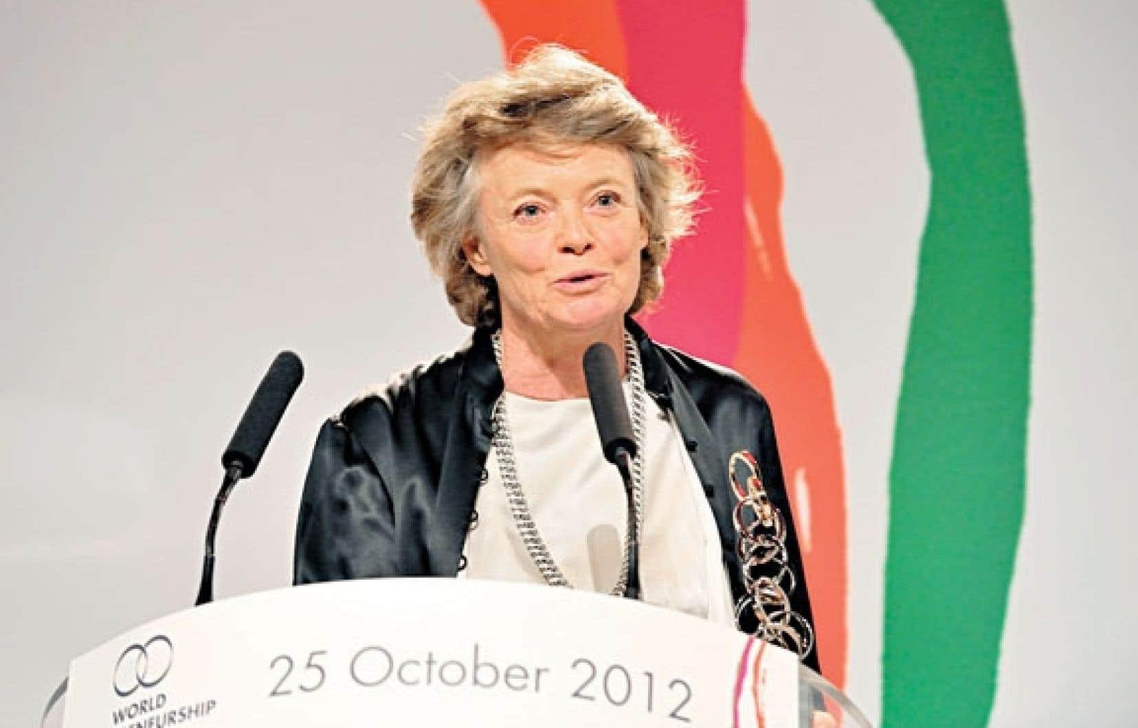 Aude de Thuin: Les femmes sont «un rempart contre la corruption chronique.»