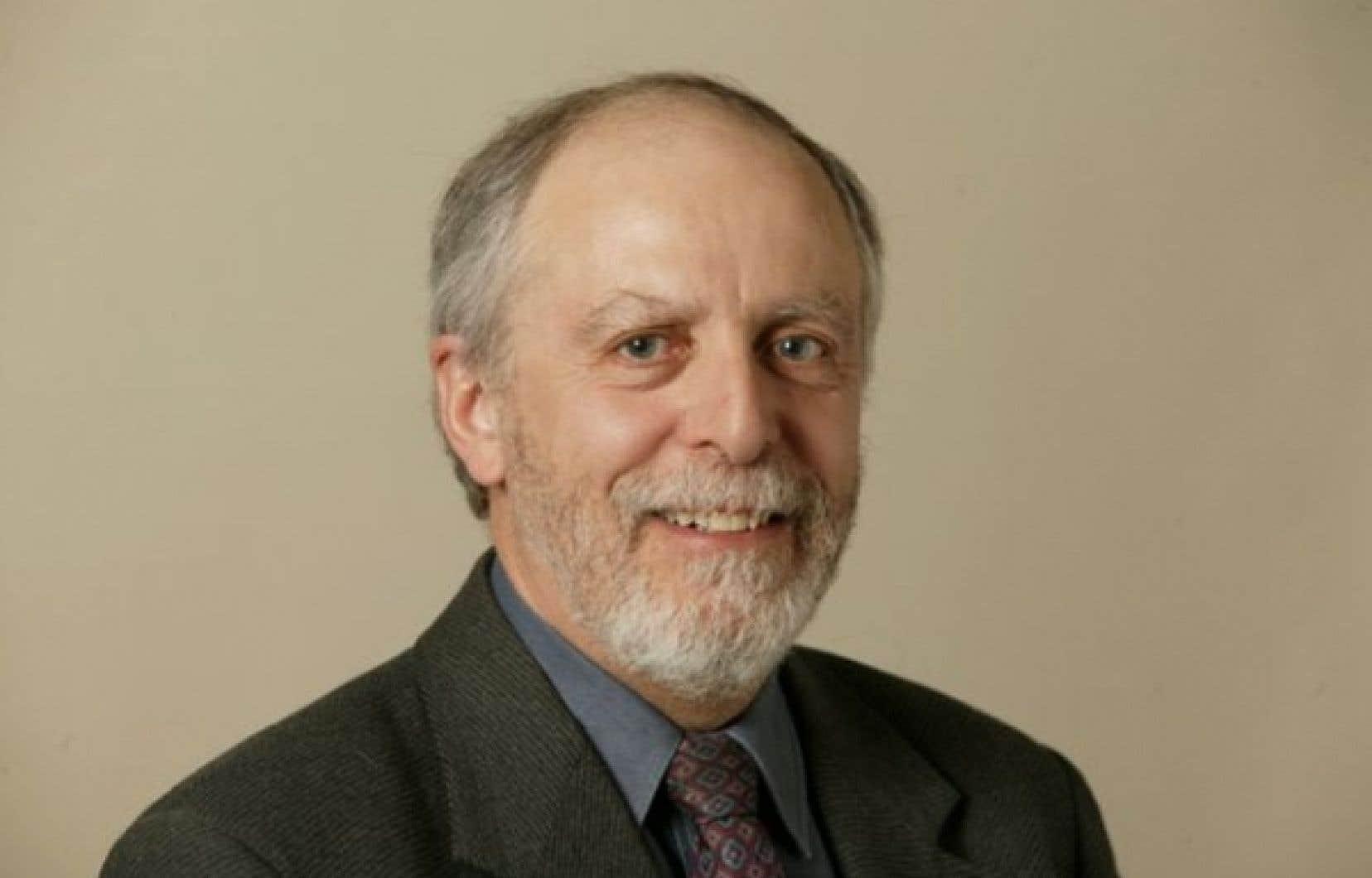 Louis-Gilles Francoeur œuvre comme journaliste environnemental au Devoir depuis 1973.
