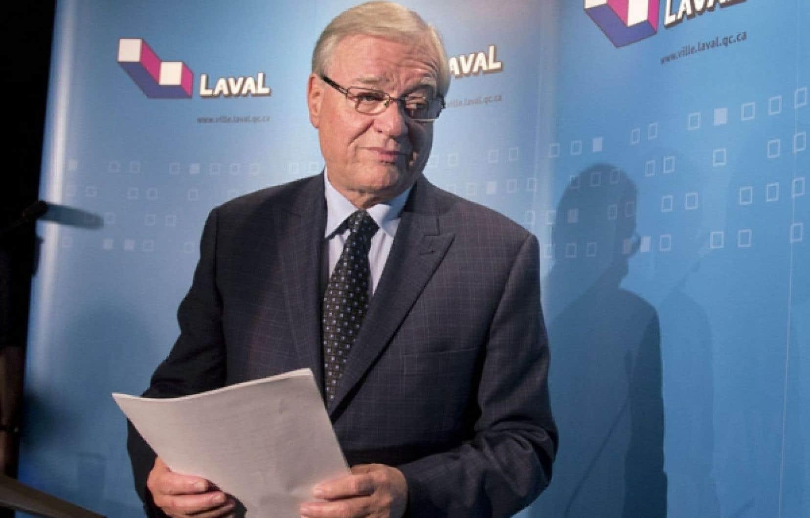 «L'establisment d'affaires» souhaitait un changement de garde et aurait vu en M. Vaillancourt un successeur qui s'annonçait sensible à l'essor économique lavallois.