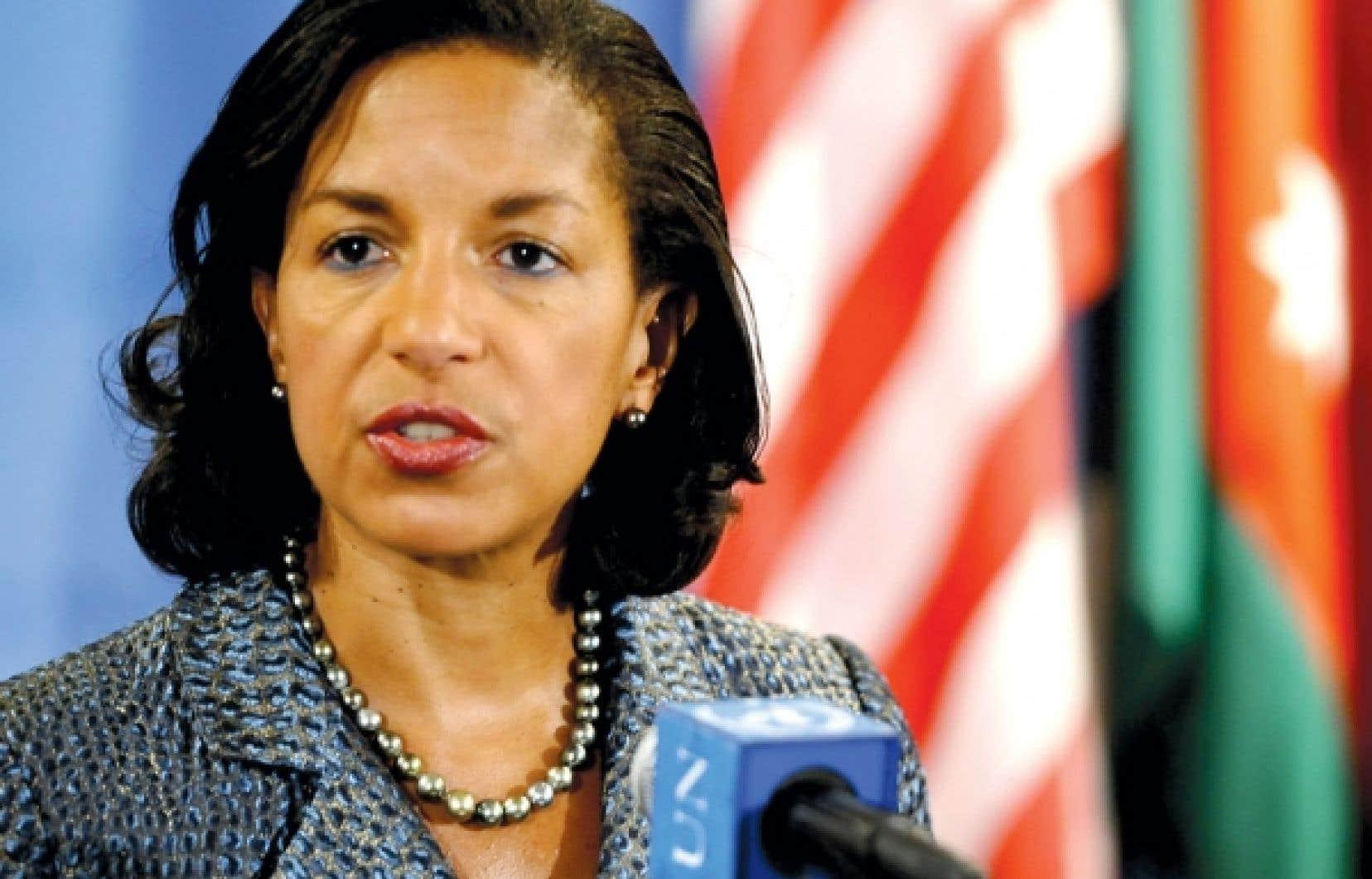 D'après la plupart des observateurs, c'est Susan Rice, présentement ambassadrice aux Nations unies, qui succédera à Hillary Clinton à la tête du Secrétariat d'État américain.