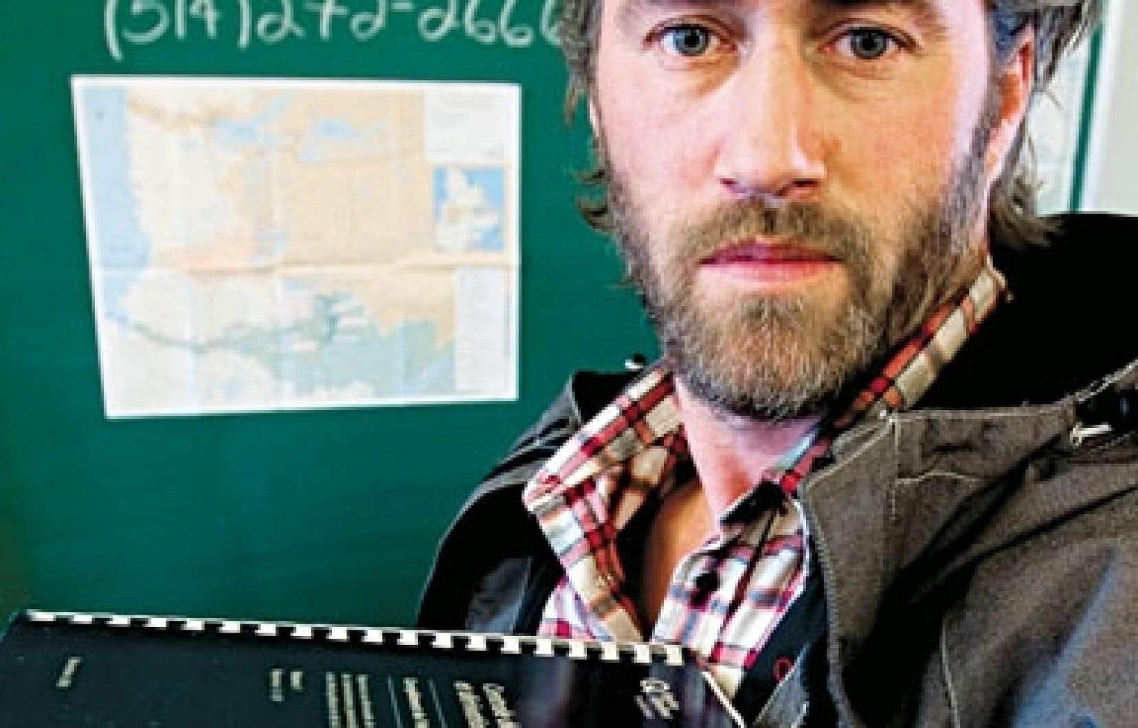 Le comédien et militant Roy Dupuis