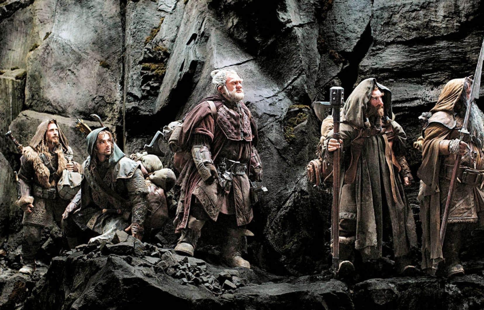 Il ne se passe pas grand-chose dans The Hobbit, mis à part d'interminables affrontements avec des êtres particulièrement hideux.