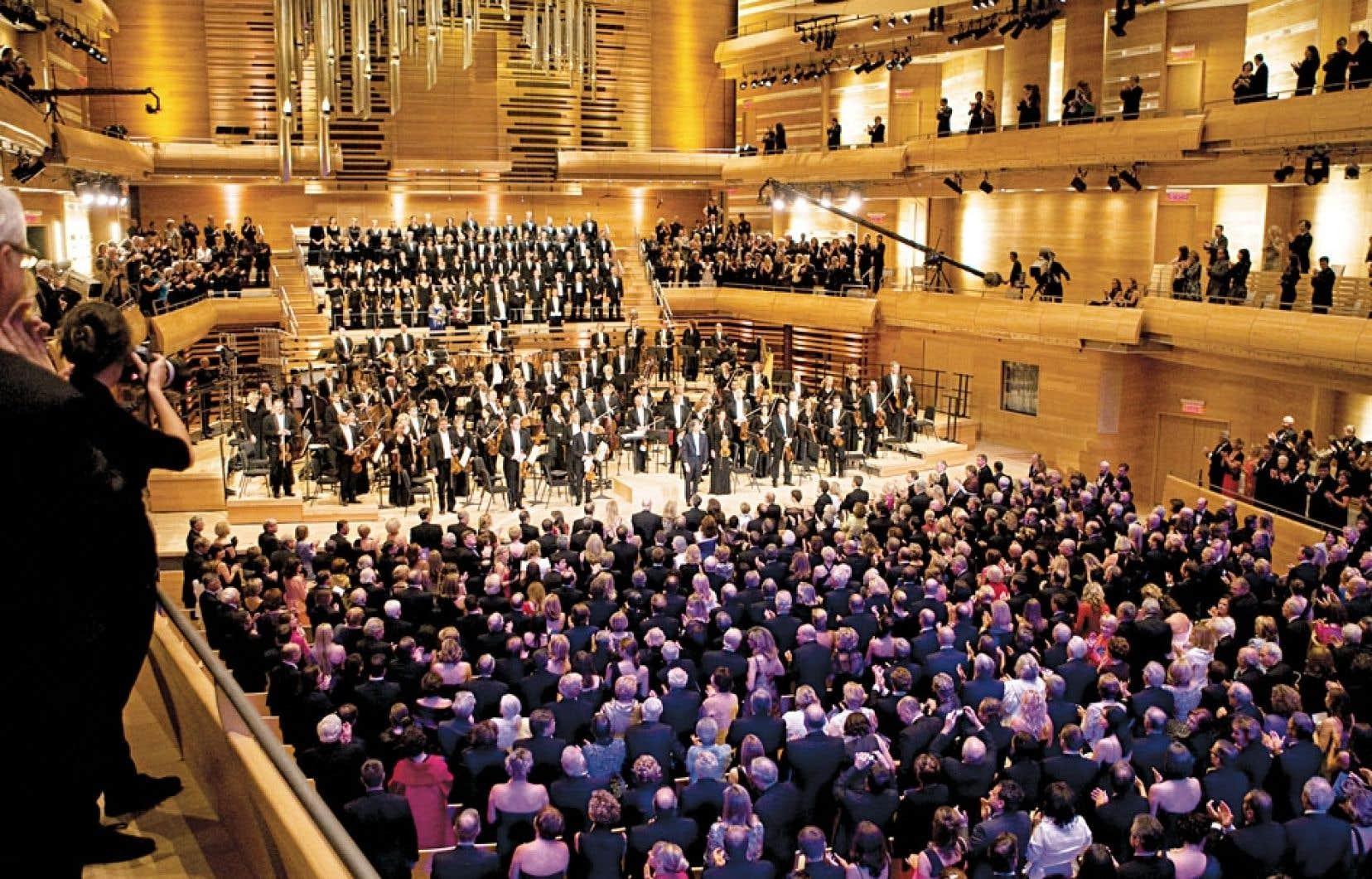 L'essentiel de la hausse en culture était déjà affecté à la Maison symphonique de Montréal.