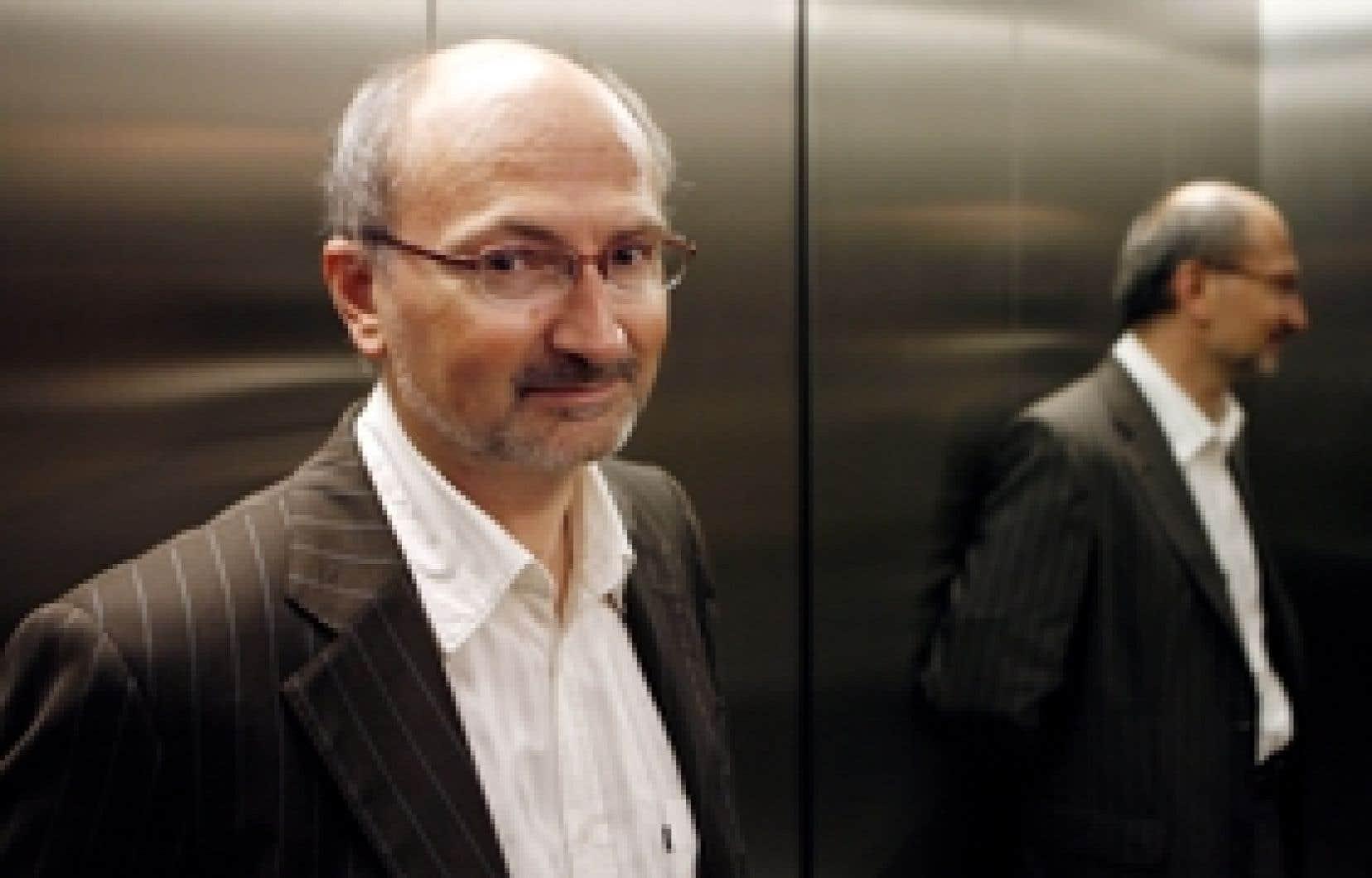 Éric Fottorino est devenu directeur du Monde en juillet dernier.