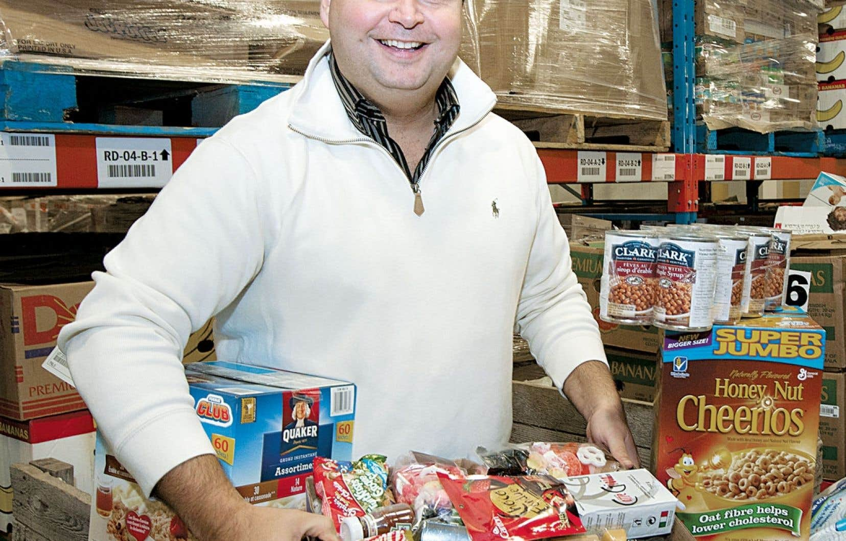 <div> Dany Michaud: «Je me considère comme un homme d'affaires avec une mission philanthropique.»</div>