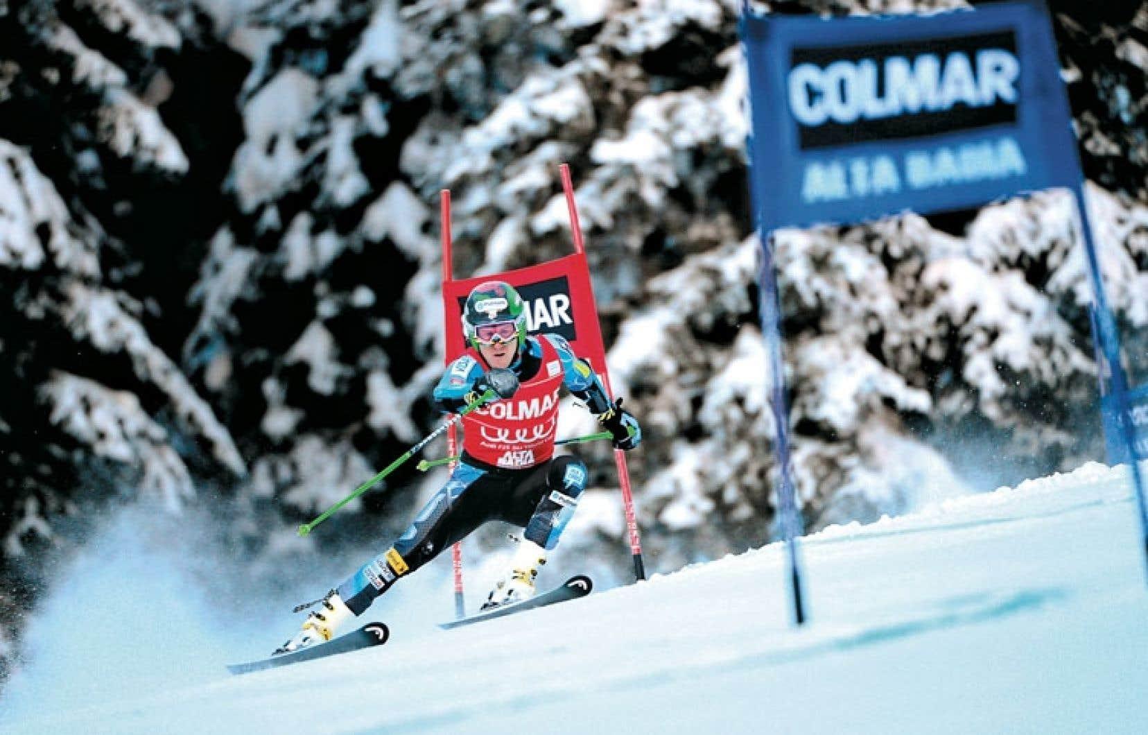<div> Ted Ligety totalise 14 victoires en Coupe du monde, toutes inscrites en slalom géant.</div>