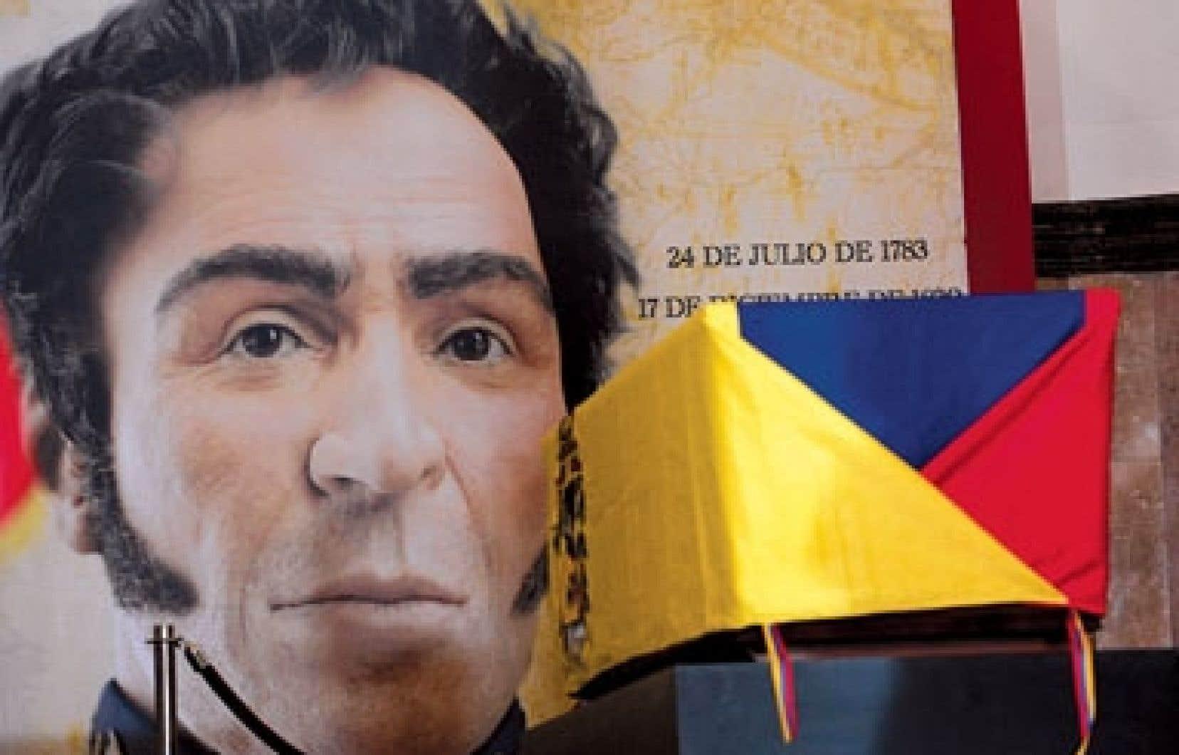 Le Venezuela soulignait lundi le 182e anniversaire de la mort de Bolivar.