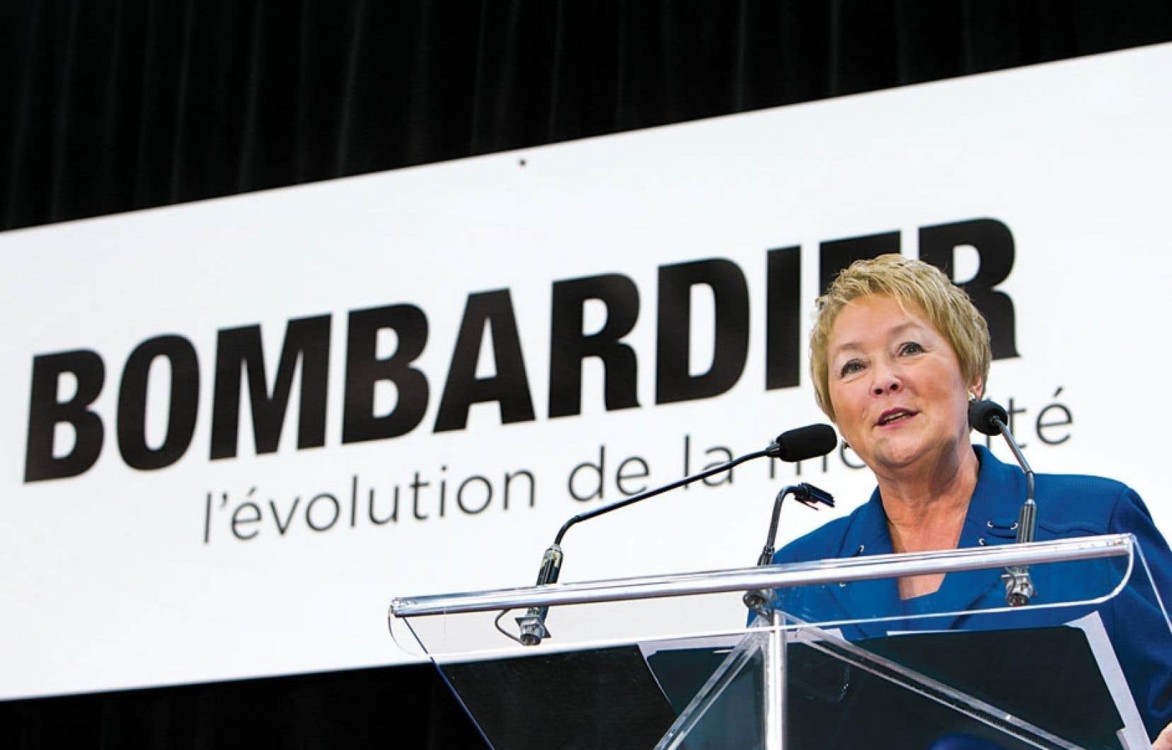 Pauline Marois: « On doit créer des conditions pour que les entreprises aient le désir de demeurer ici.»