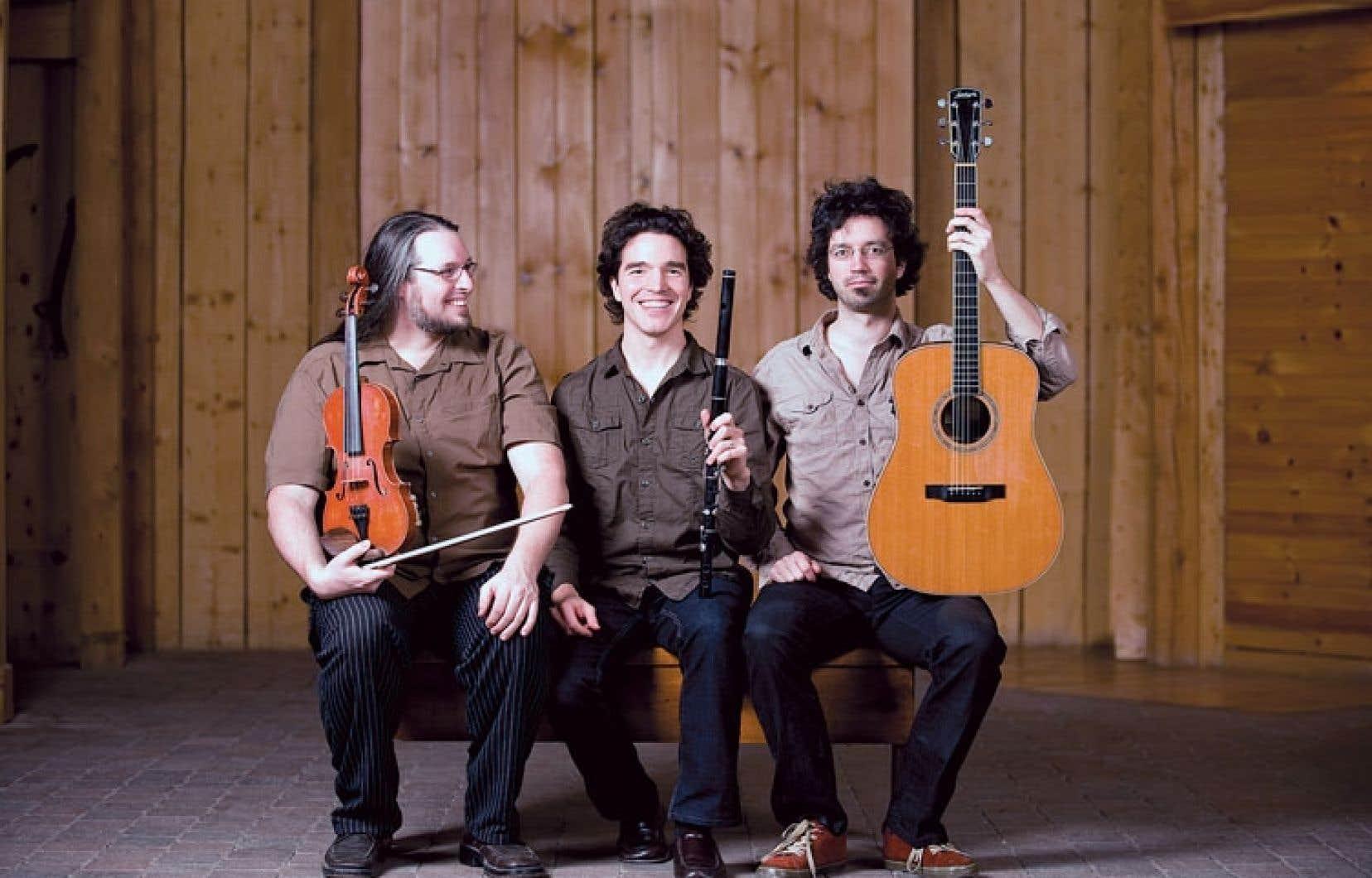 Le trio Genticorum offrira des reels et des gigues pour la fête de ContraMontreal.