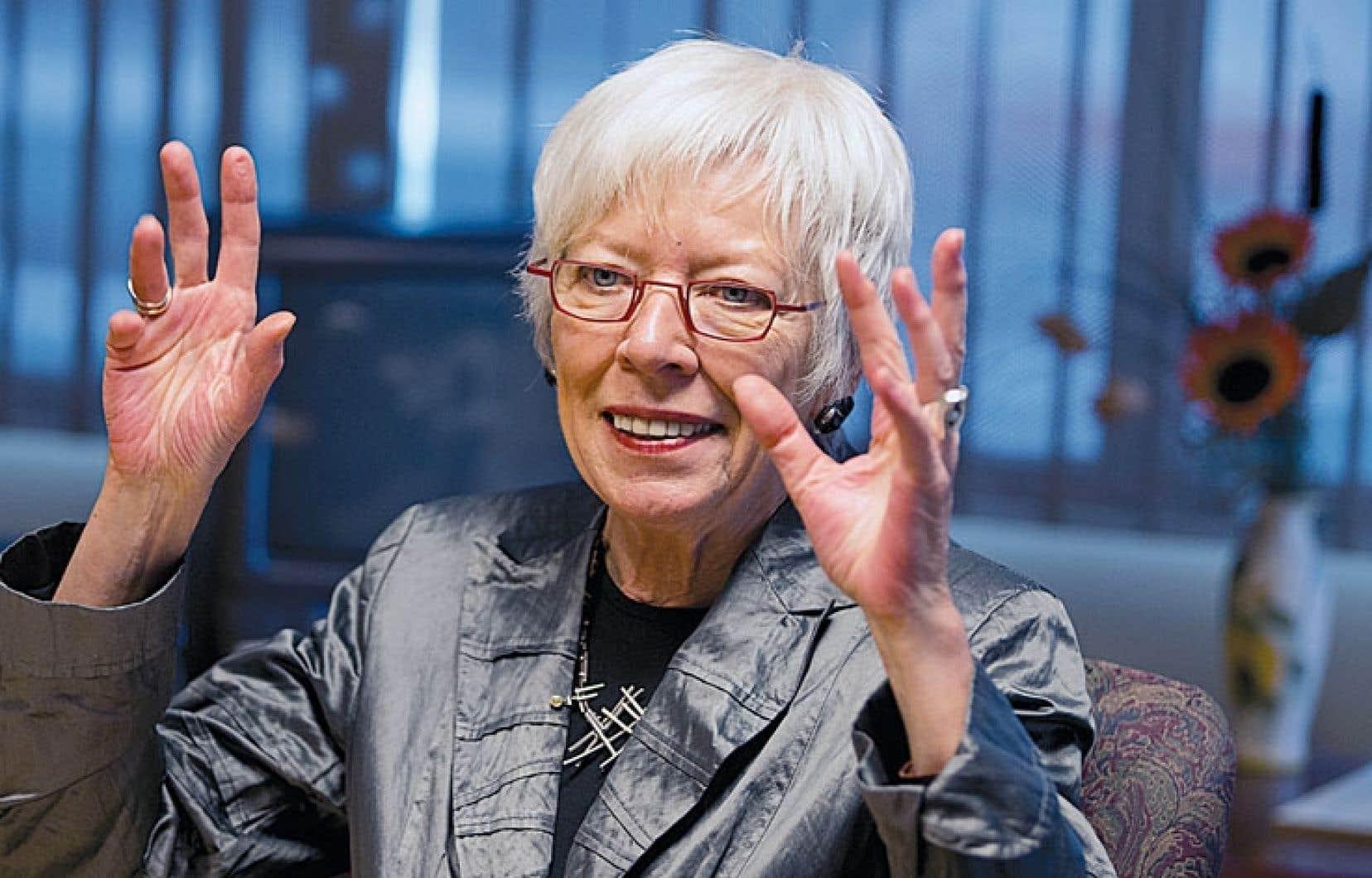 Lise Denis se dit impatiente de voir les dossiers qui lui tiennent à cœur aboutir dans un réseau pas toujours rapide à réformer.