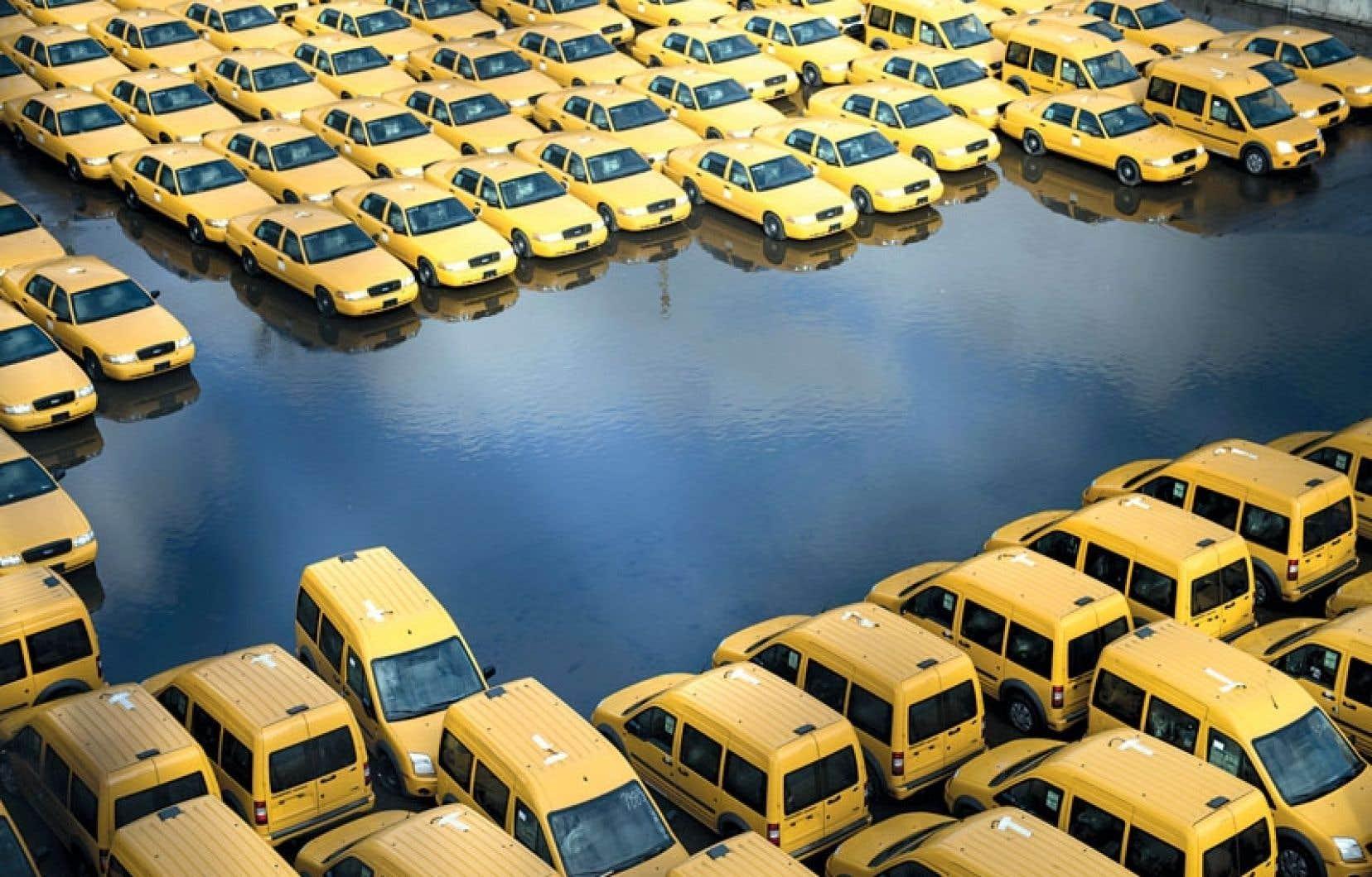Difficile d'imaginer meilleure photo pour illustrer le passage de l'ouragan Sandy à New York.
