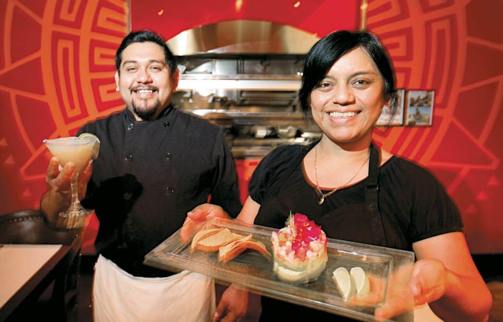 Au Limon, à Montréal, l'ambiance est chaleureuse. Les cuistots d'origine mexicaine Javier et Bertha préparent d'authentiques classiques de leur pays, en plus de quelques recettes régionales.