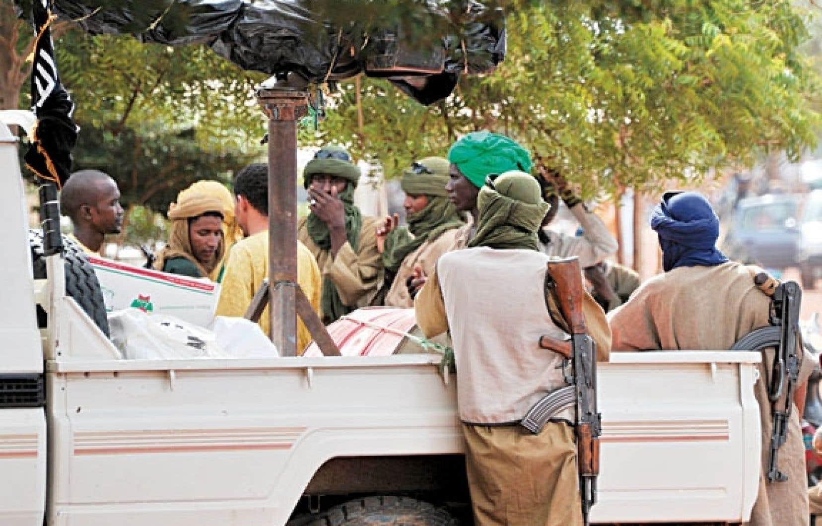 Un groupe d'islamistes armés à Gao en septembre