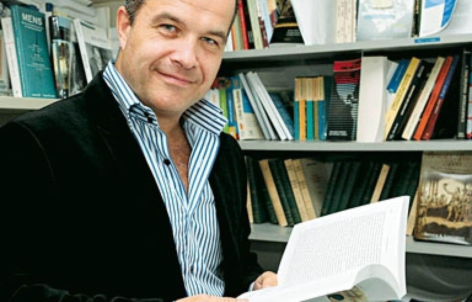 L'historien et professeur Éric Bédard