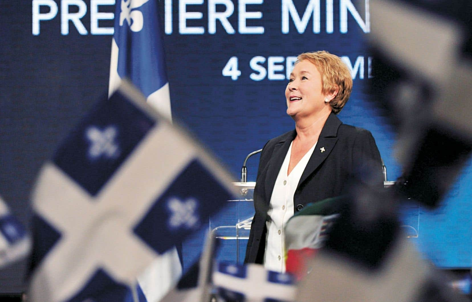 Pauline Marois a marqué l'histoire en devenant première ministre du Québec le 4 septembre 2012.