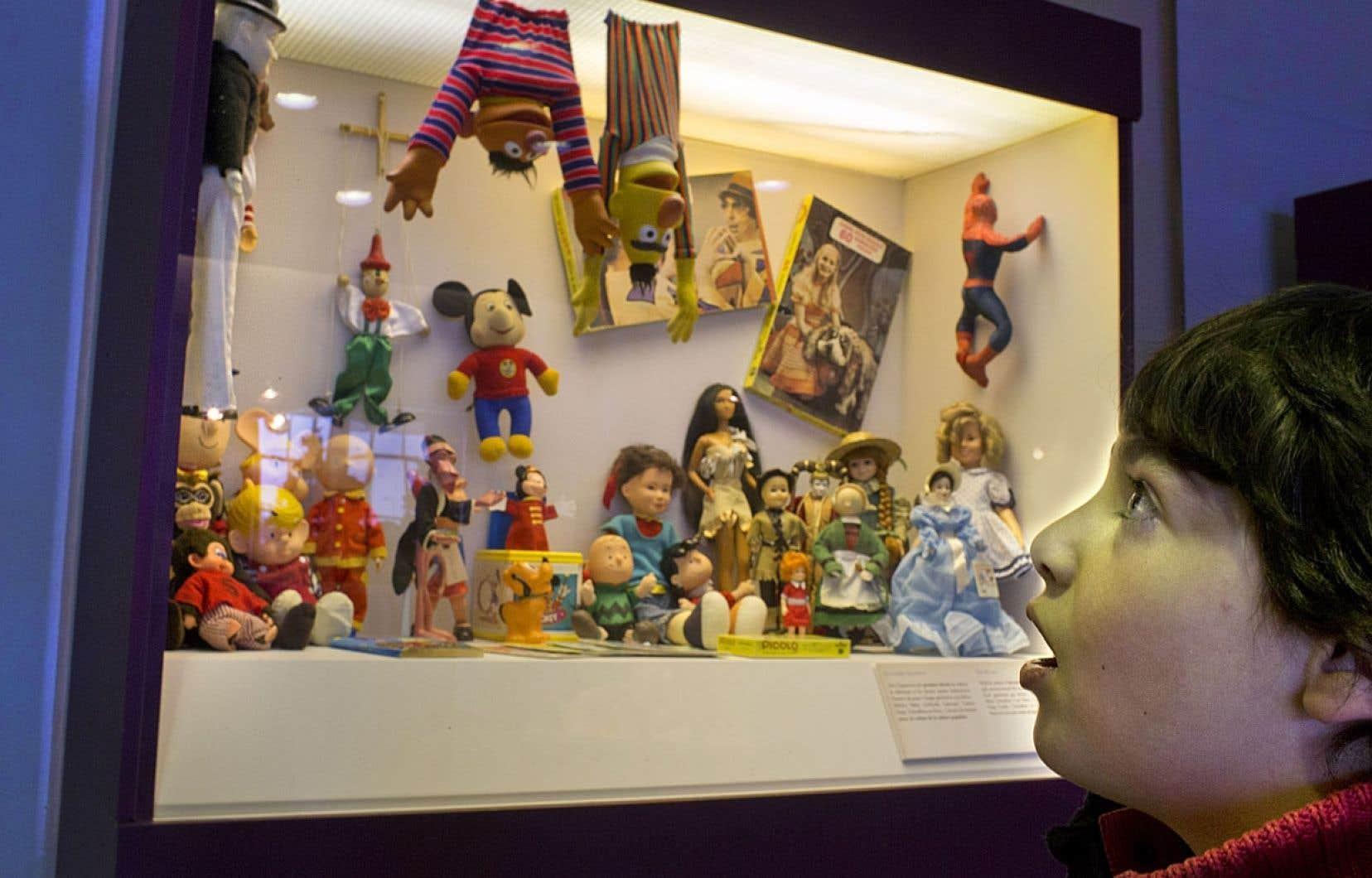 L'exposition Mémoire de jouets se tient au Marché Bonsecours jusqu'au 5 janvier 2013.