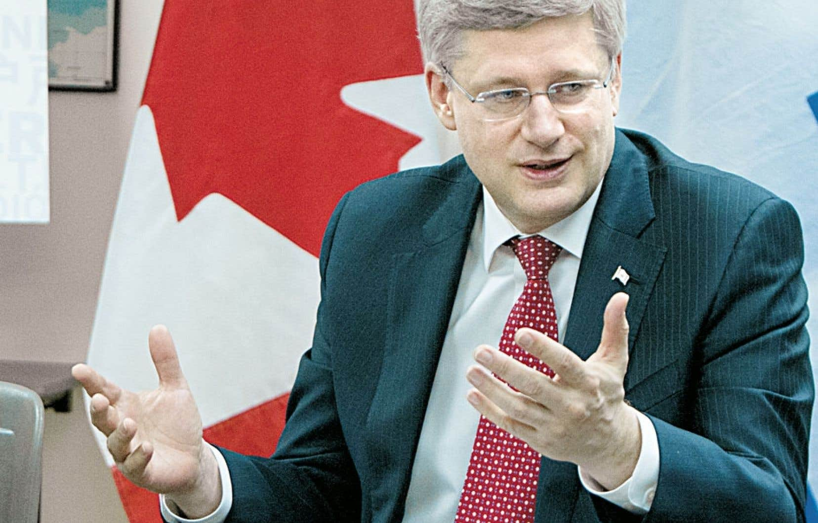 Stephen Harper a pris goût à diriger un gouvernement majoritaire.