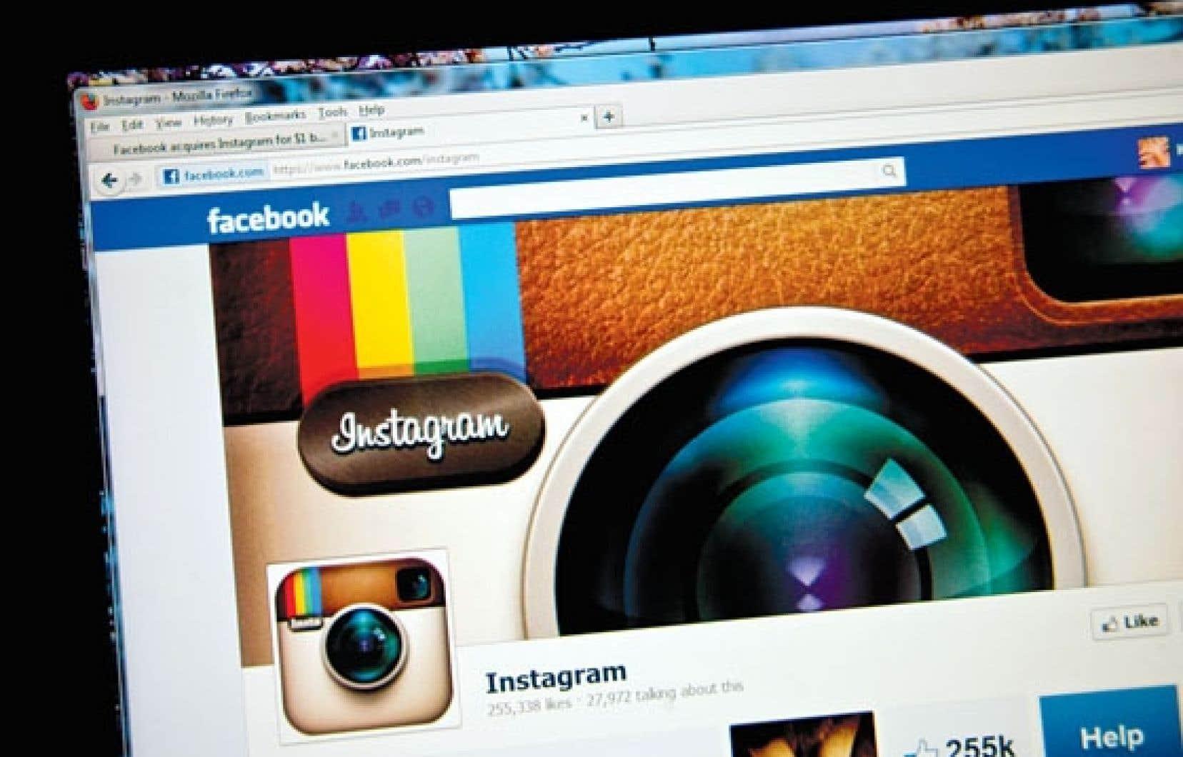 L'application de partage de photos Instagram a subi une baisse de 3,5 millions d'utilisateurs par jour en moyenne (-22 %) au cours des sept derniers jours.