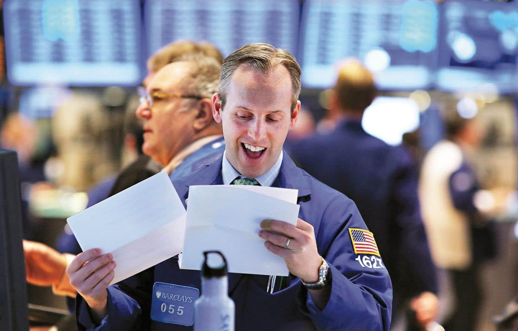 Les marchés ont laissé éclater leur joie après avoir appris que la première économie mondiale n'avait pas frappé le fameux mur dont on parlait depuis presque deux ans.