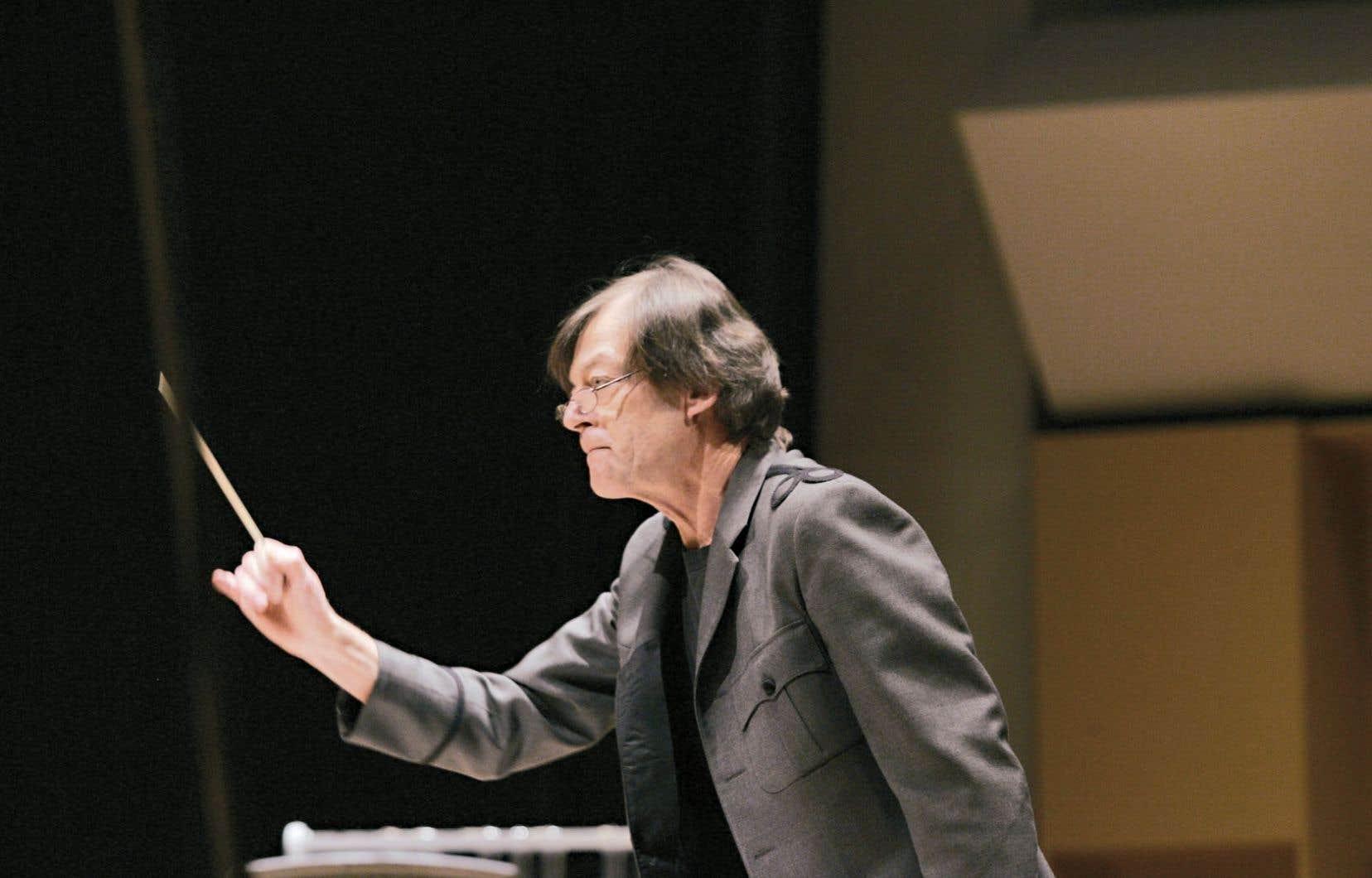 À 65 ans, Walter Boudreau affirme n'avoir pas envie de quitter la scène de sitôt.