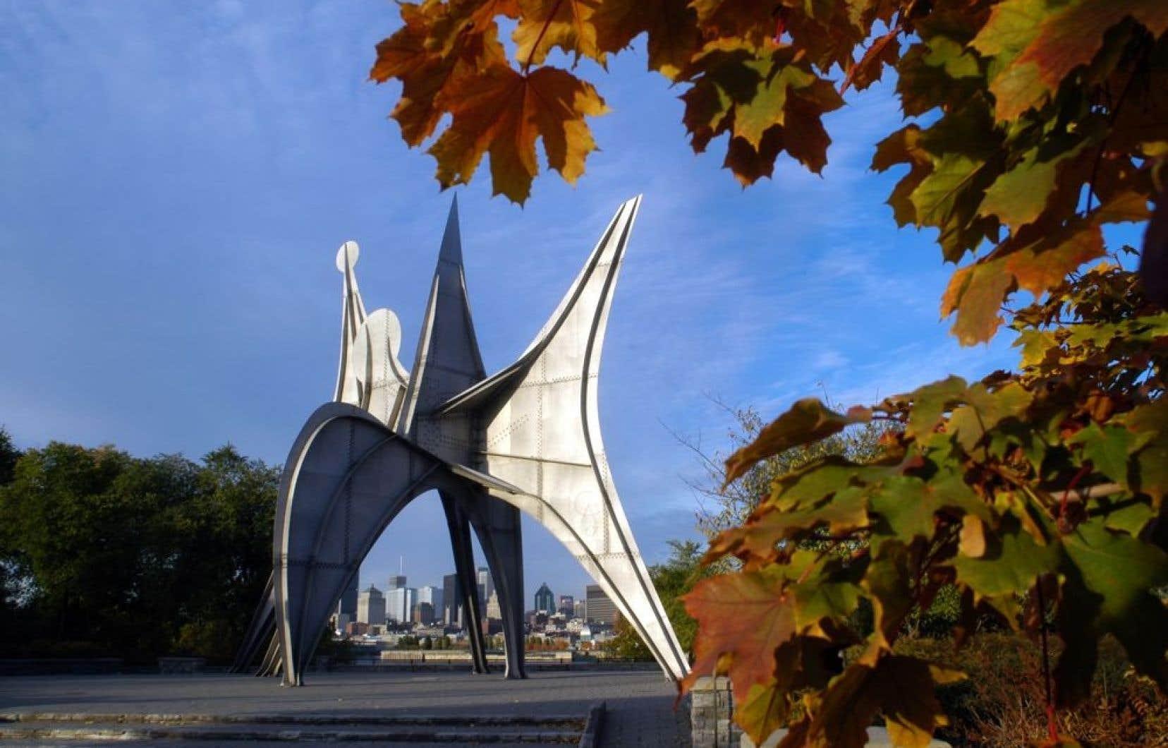 «J'aime cette sculpture de Calder, mais je trouve qu'elle ne représente pas l'énergie de Montréal en 2013».