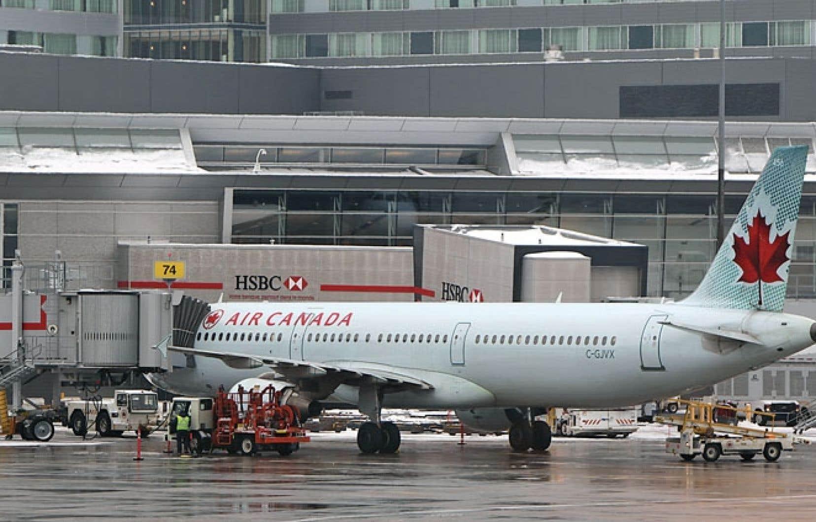 Montréal-Trudeau est le troisième aéroport international au pays.