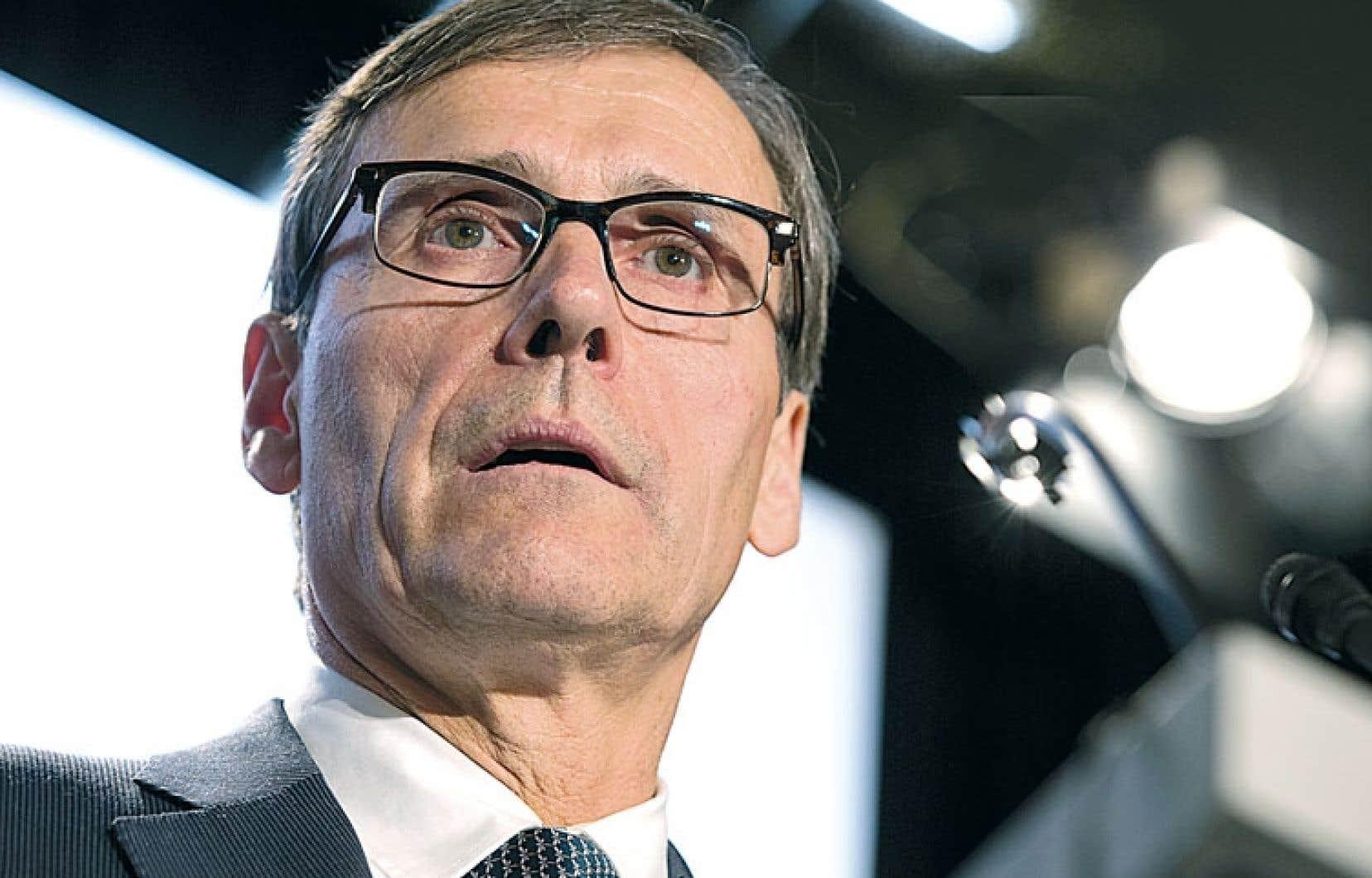 Richard Garneau, président de Résolu, se demande si son entreprise pourra continuer d'œuvrer au Québec.