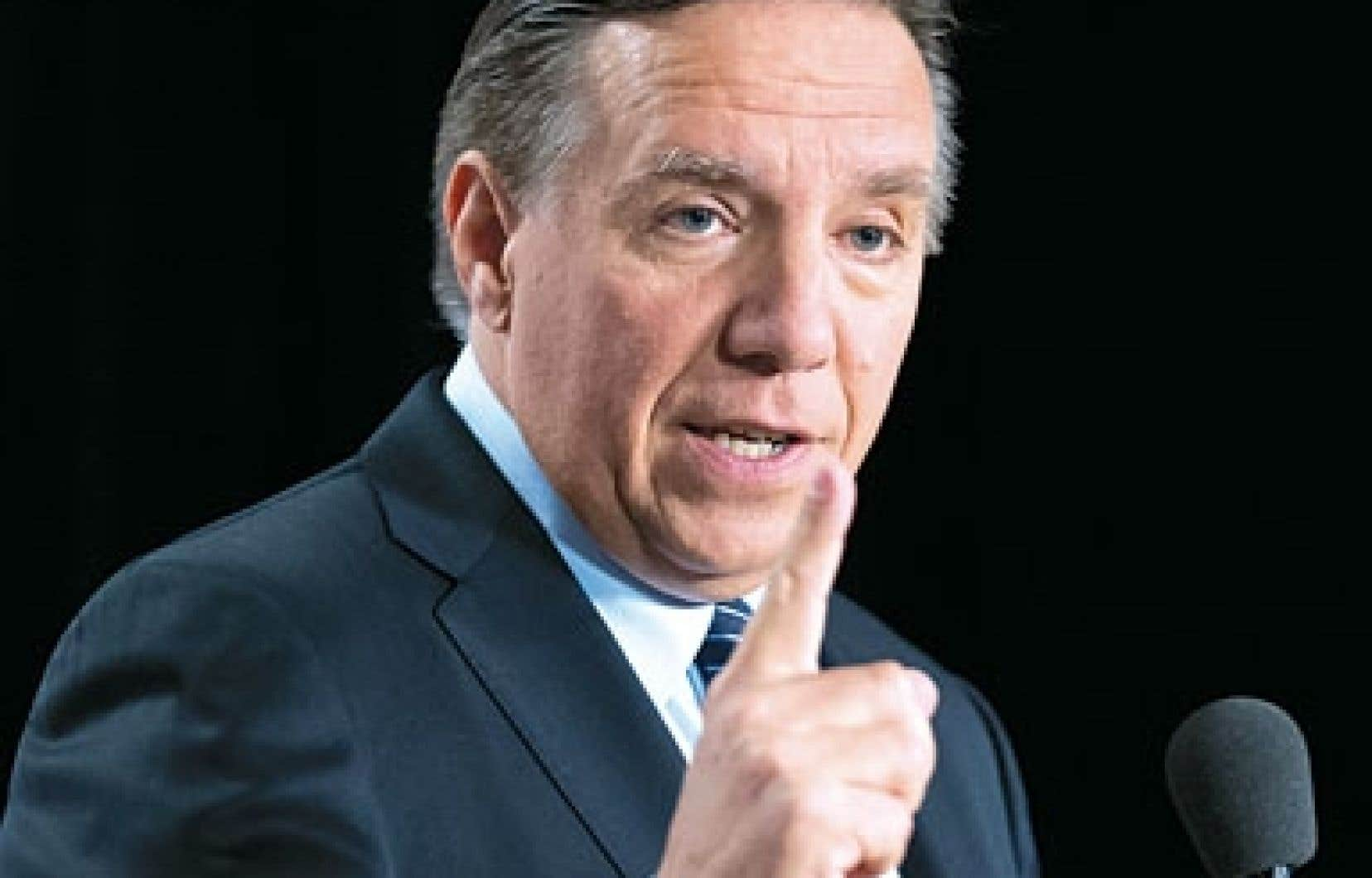 «Arrêtons d'avoir peur de l'excellence au Québec», a plaidé le chef de la CAQ, François Legault par rapport à la qualité de l'enseignement supérieur.