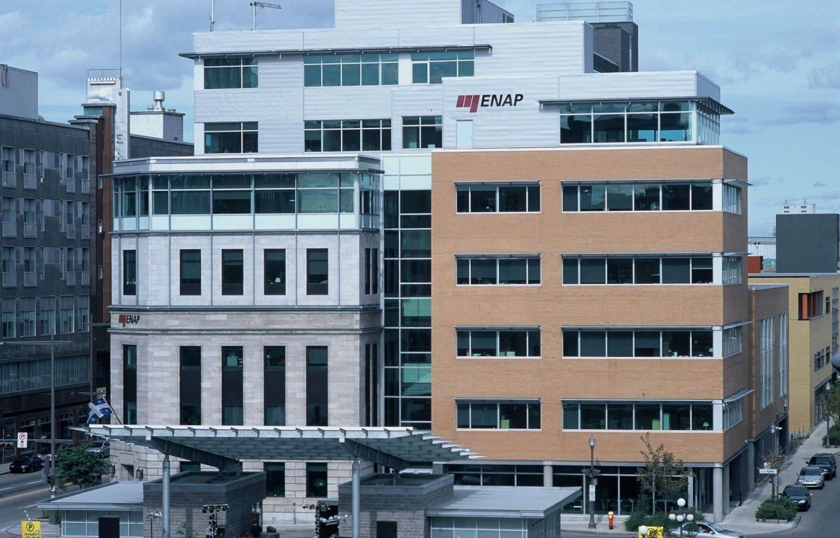 L'ENAP a été créée en 1969 à la demande du gouvernement québécois.