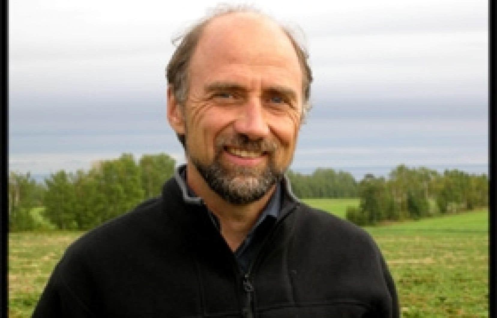 «Il nous faut absolument trouver des façons d'augmenter les revenus de nos entreprises», martèle Luc Potvin, coordonnateur de la Table de concertation agroalimentaire de la Gaspésie. Photo: Thierry Haroun