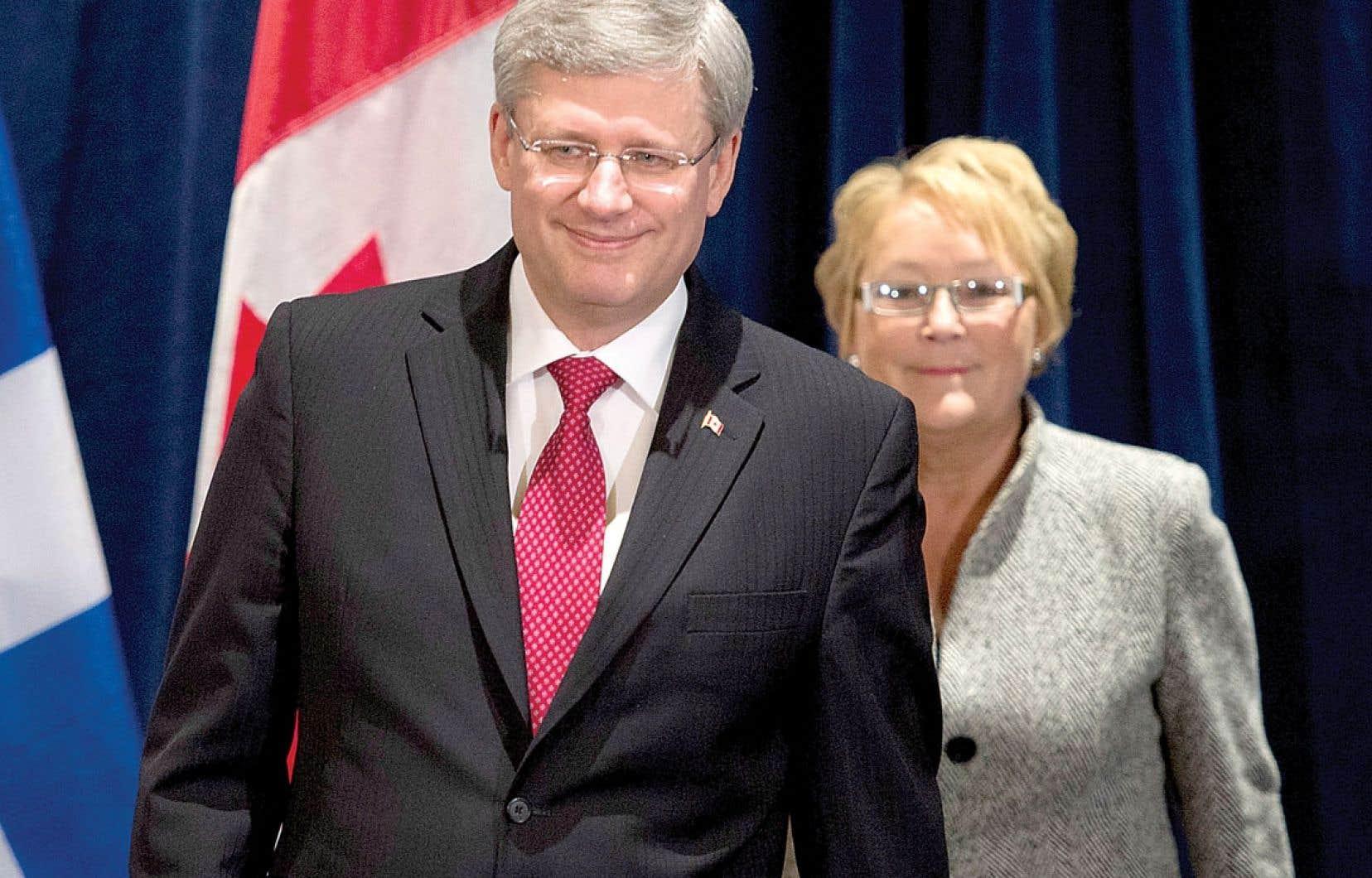 <div> De passage à Lévis vendredi, où il a rencontré la première ministre Pauline Marois, M. Harper a rappelé que l'assurance-emploi «est une compétence clairement fédérale, selon la Constitution canadienne. Nous avons l'intention de respecter cette compétence.»</div>