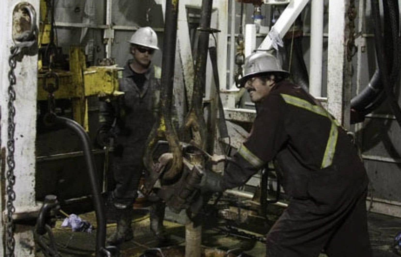 Pétrolia détient depuis l'été 2012 des permis du gouvernement du Québec pour son forage exploratoire à Haldimand 4, mais le conseil municipal de Gaspé a adopté un règlement sur la protection de l'eau potable qui a eu comme effet de forcer Pétrolia à suspendre ses travaux.