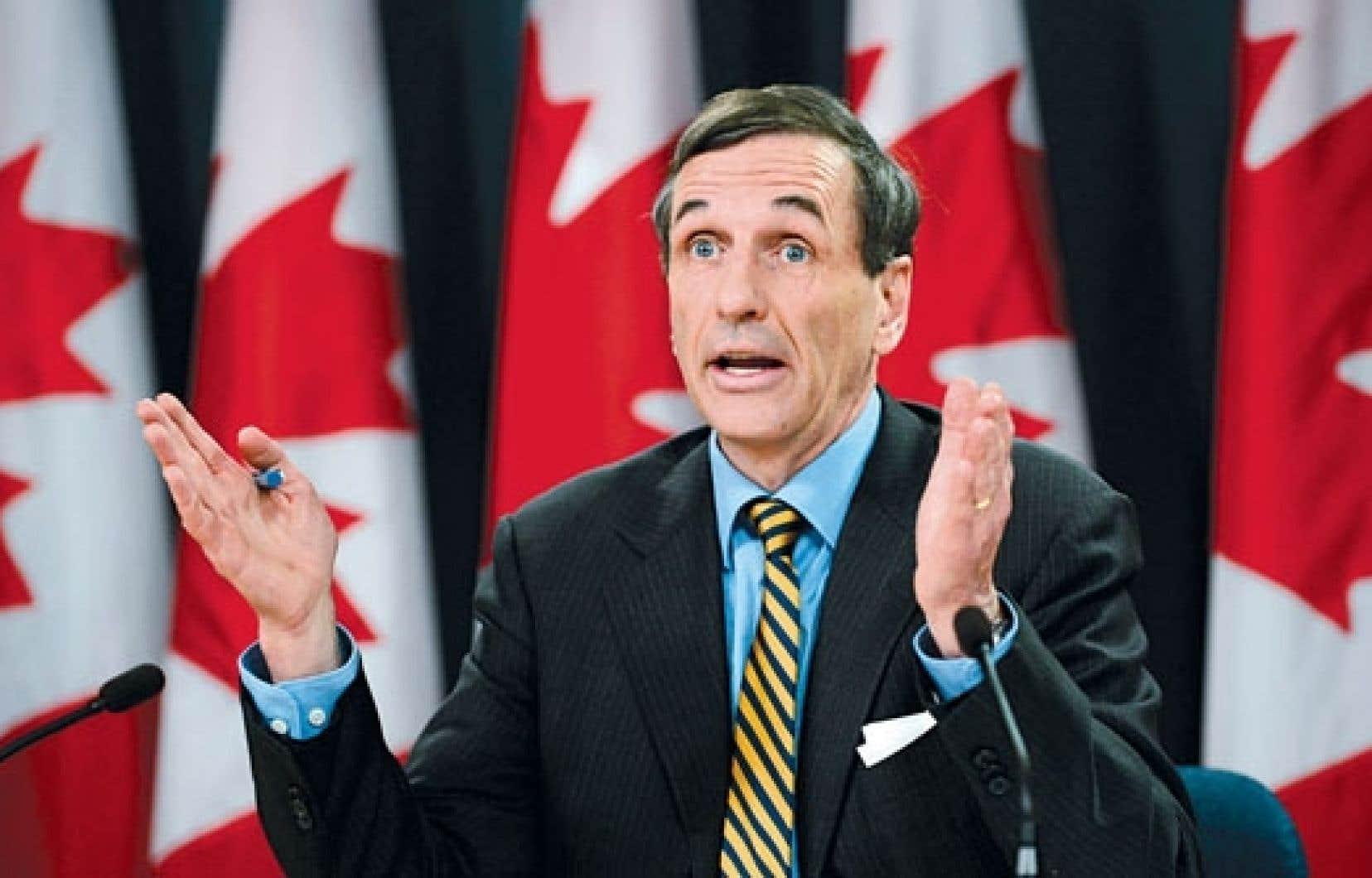 Le commissaire à l'environnement et au développement durable du Canada, Scott Vaughan