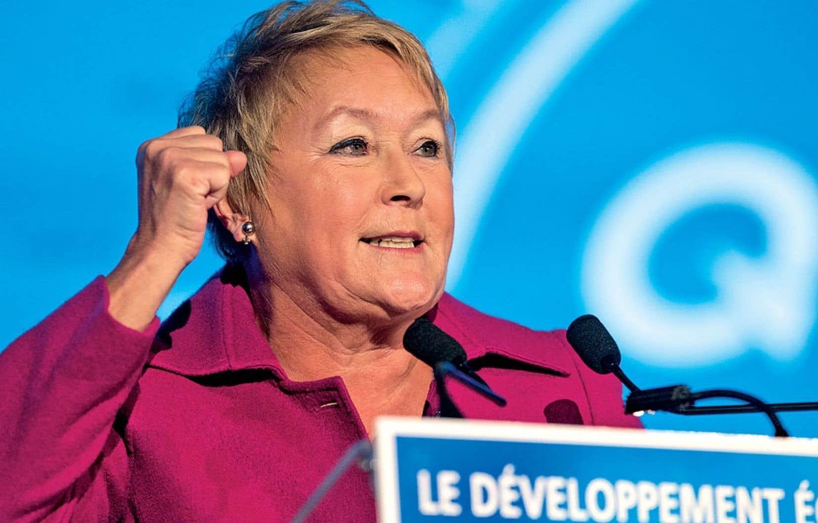«Nous avons parfois été mis sur la défensive depuis le référendum de 1995. Mais c'est fini, ce temps-là.» –La première ministre Pauline Marois