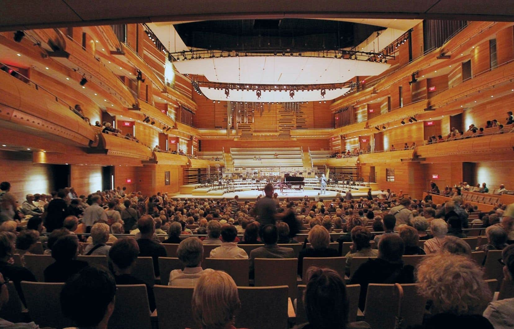 Depuis l'inauguration de la Maison symphonique, en 2011, plusieurs observateurs de la scène musicale s'entendent pour en reconnaître les qualités acoustiques exceptionnelles.