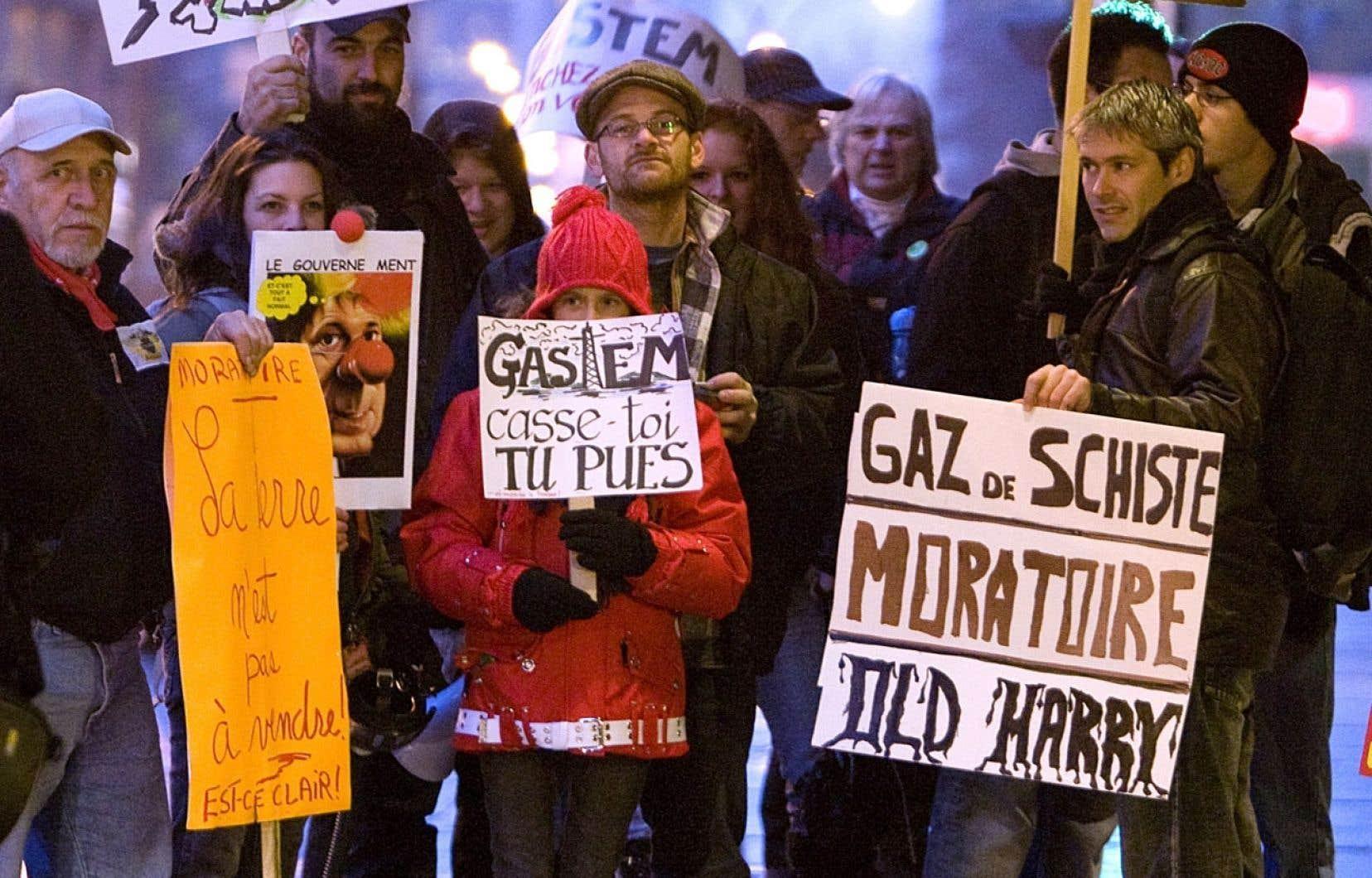 Un des responsables de l'étude menée dans le cadre des évaluations stratégiques du ministère de l'Environnement, estime que le départ raté de l'industrie du gaz de schiste au Québec tient sans doute au fait que les entreprises ont failli à bâtir la confiance du public.