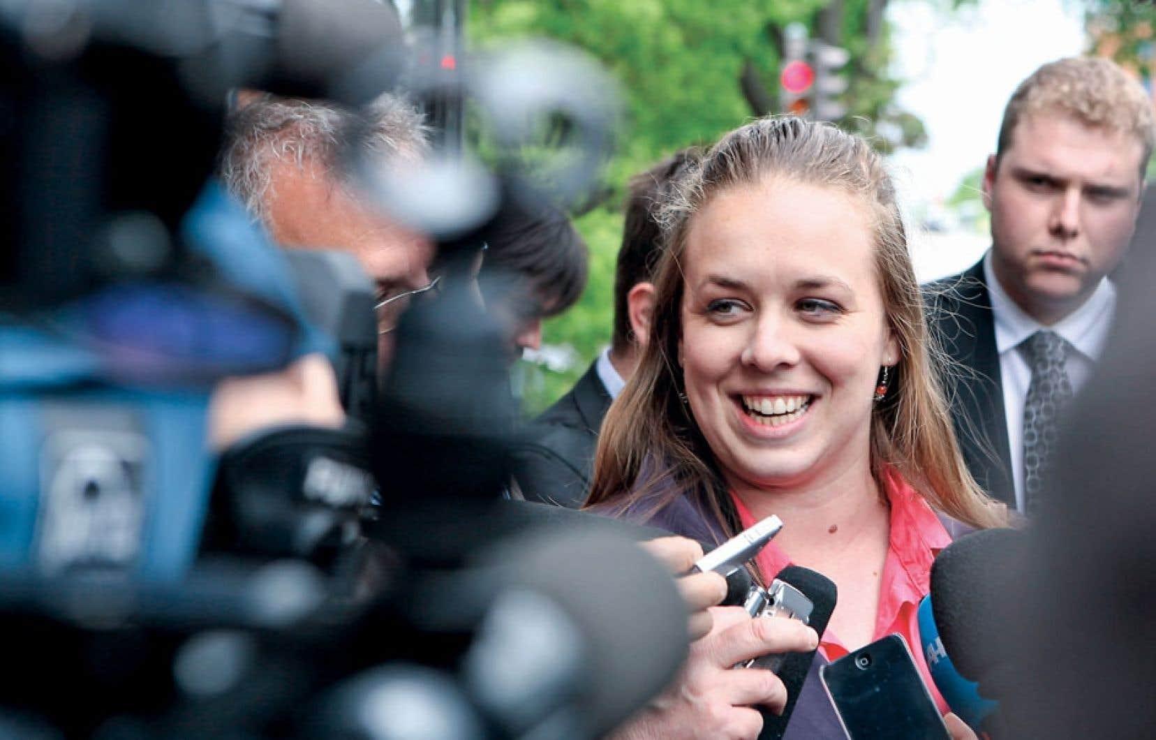 Le mandat de Martine Desjardins à la tête de la FEUQ prendra fin le 30avril.