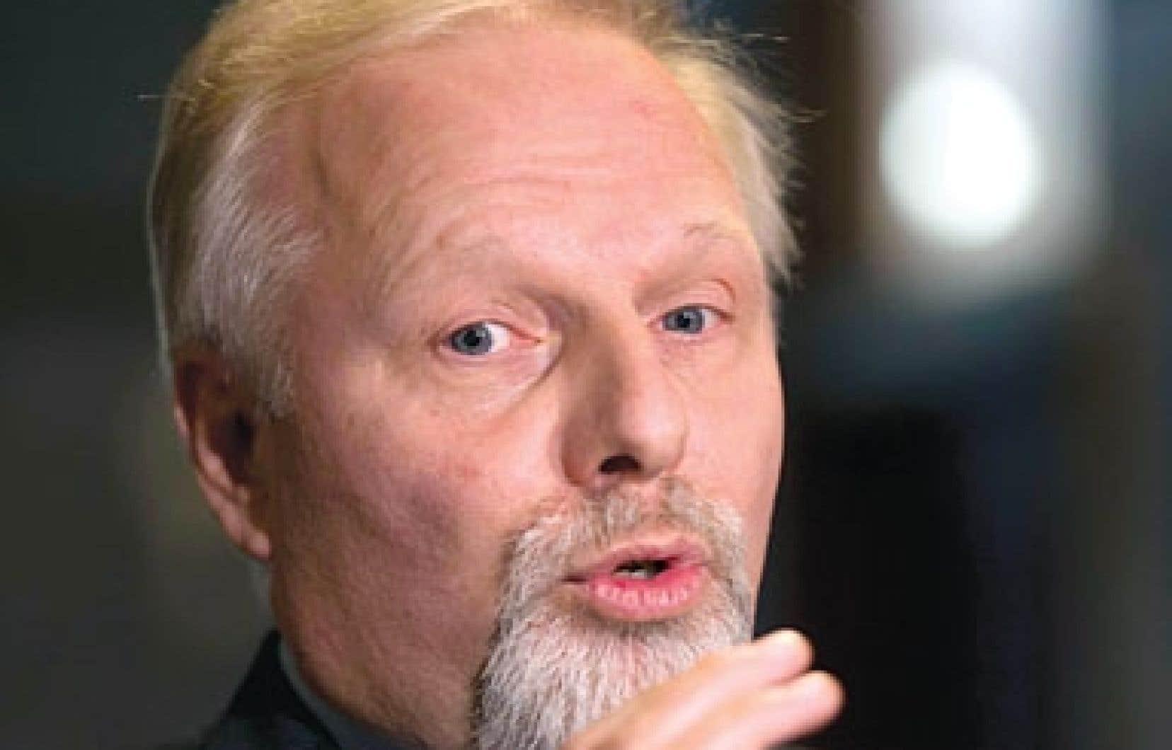 Le ministre Jean-François Lisée