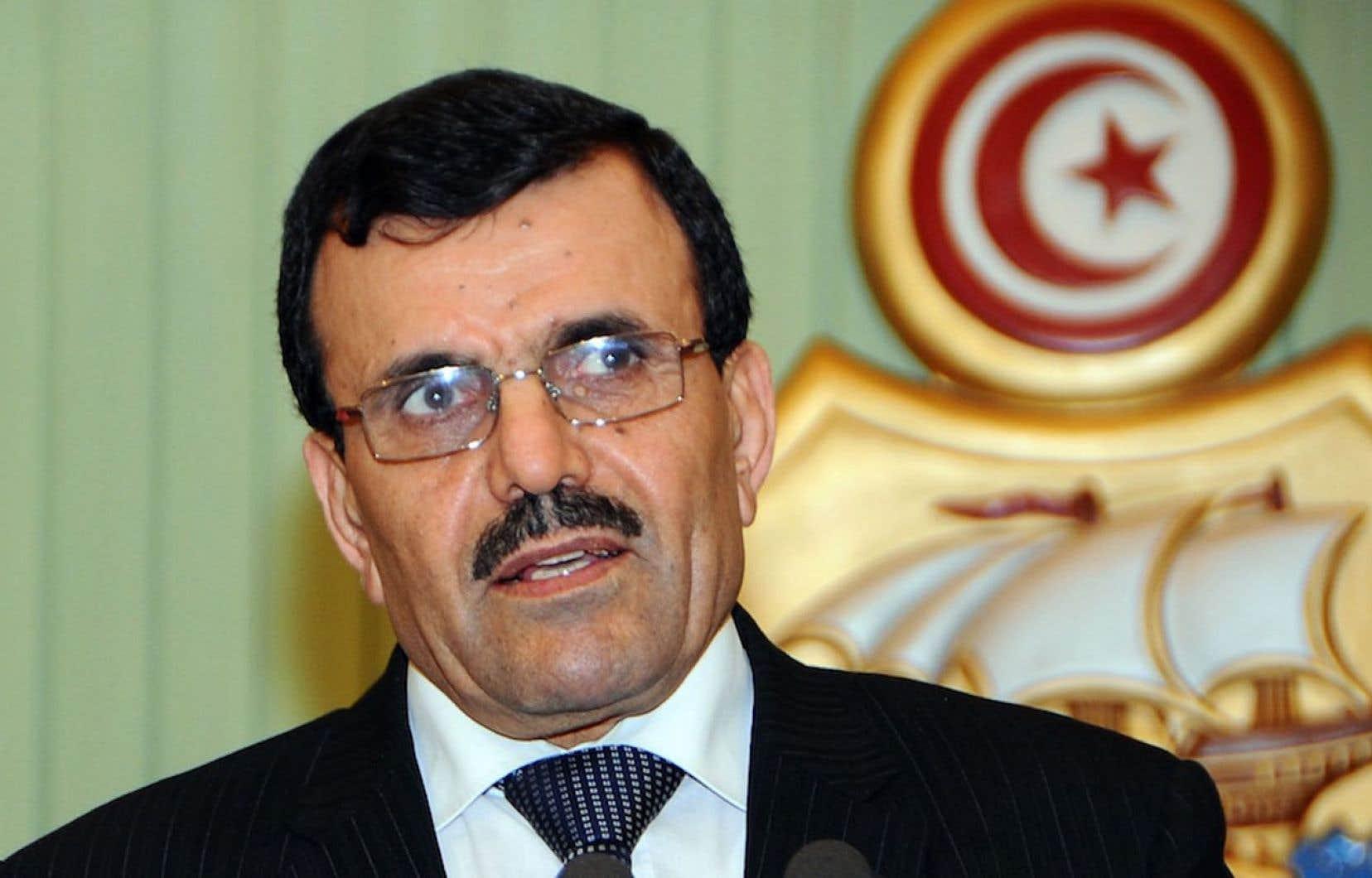 Le nouveau premier ministre tunisien Ali Larayedh