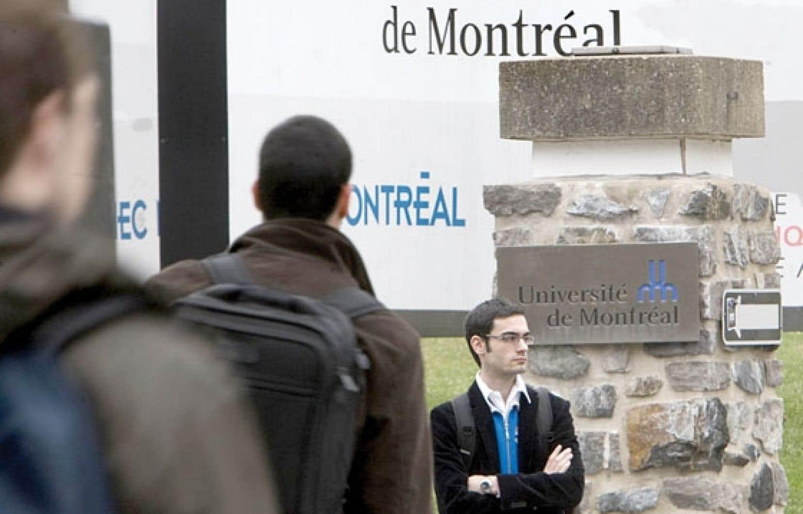 Deux universités québécoises, l'Université de Montréal et McGill, réclament un traitement différencié et un financement accru, lié à leur excellence et à leur bonne performance à l'international.