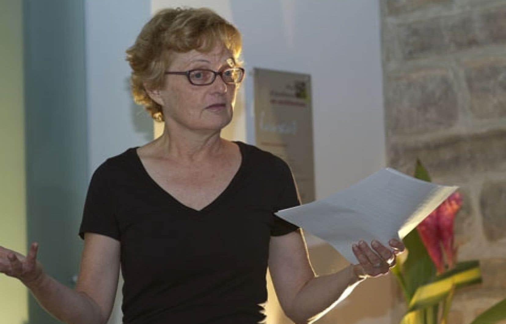 Nicole Gingras, qui a pris la barre artistique et générale de la Biennale de Montréal en août dernier, quittera le navire en mars.