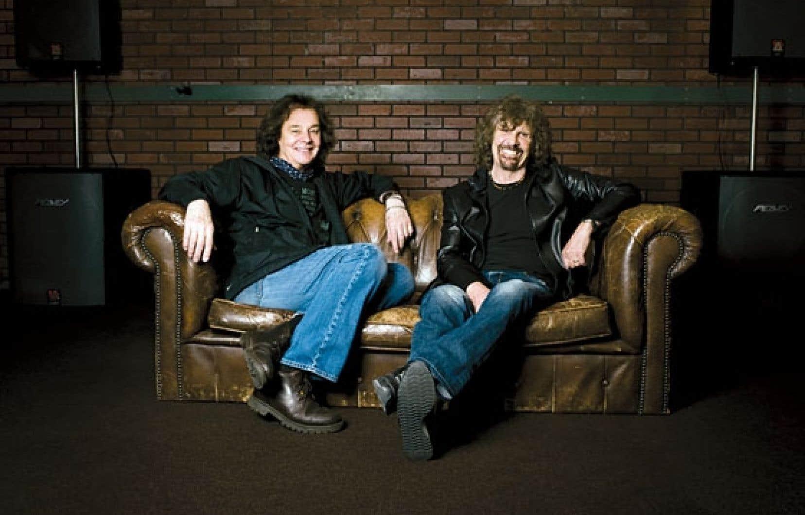 <div> Colin Blunstone (à gauche) et Rod Argent</div>