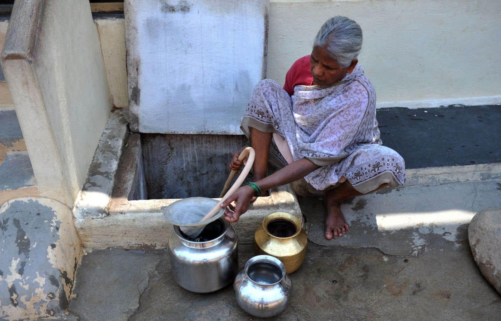 <div> En Inde, 60 millions de personnes pourraient un jour souffrir de la fluorose osseuse et six millions en seraient handicapées.</div>