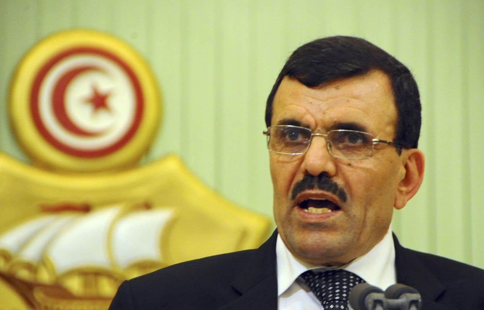 Le premier ministre tunisien Ali Larayedh