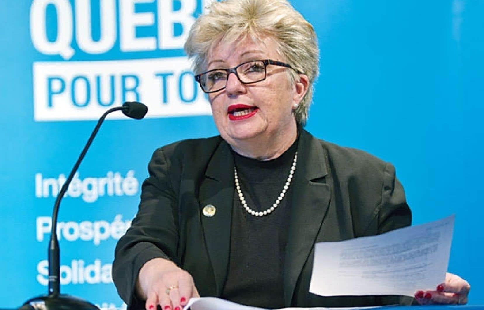 Diane De Courcy reproche au précédent gouvernement libéral d'avoir «ignoré l'Office» trop longtemps.