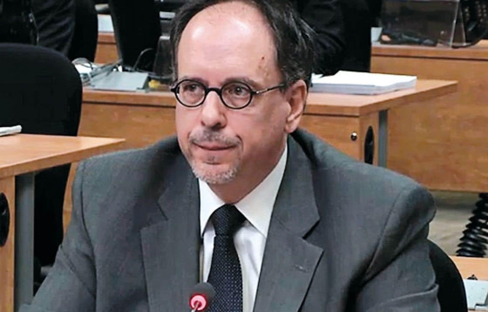 L'ex-directeur général de la Ville de Montréal,Claude Léger