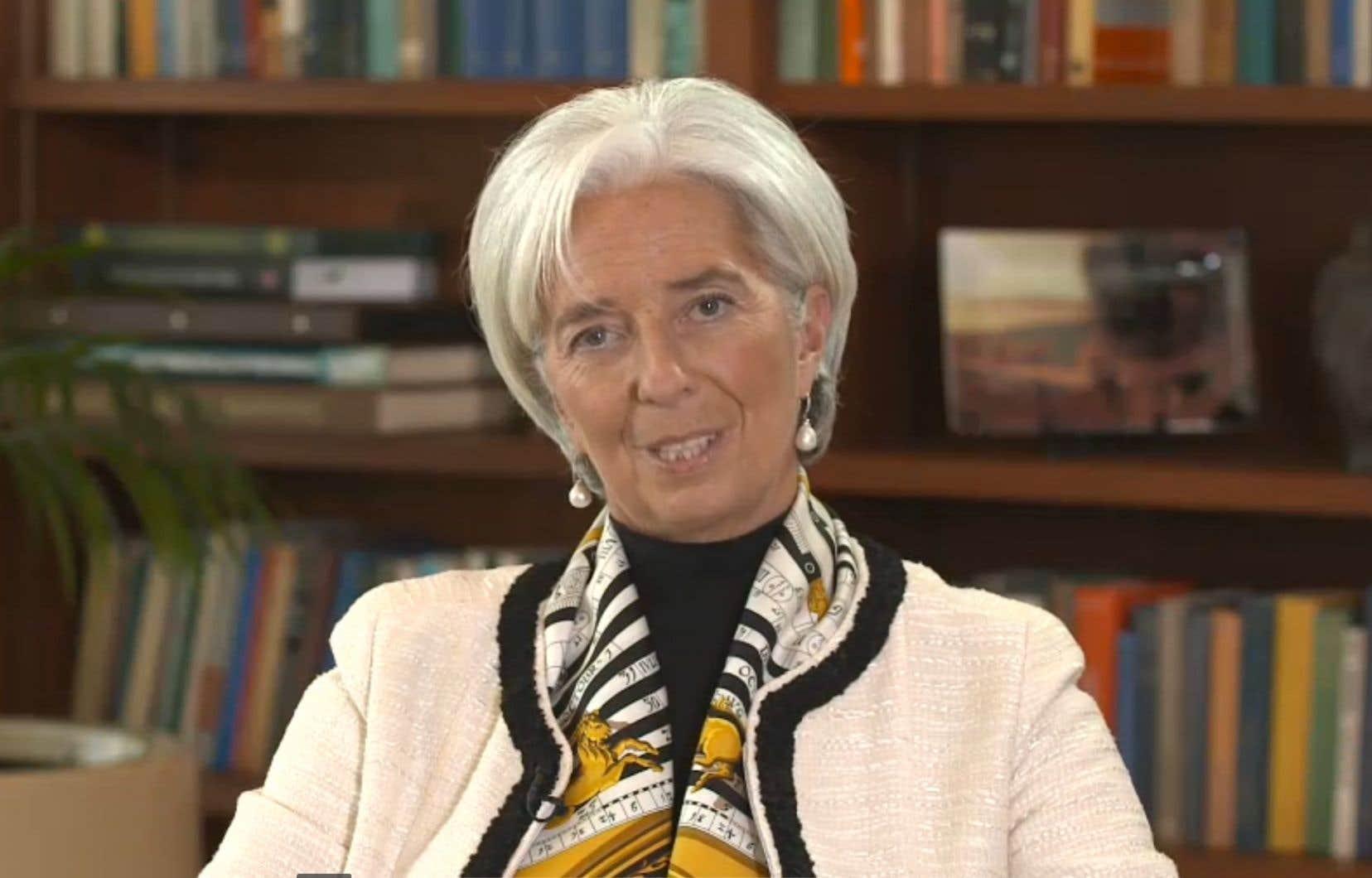 La maison de la directrice du FMI, Christine Lagarde, a été fouillée par la police.