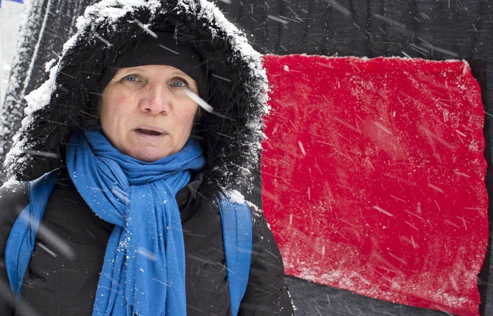 Un an après le début du conflit étudiant, Suzanne Bilodeau est toujours membre de Mères en colère et solidaires.
