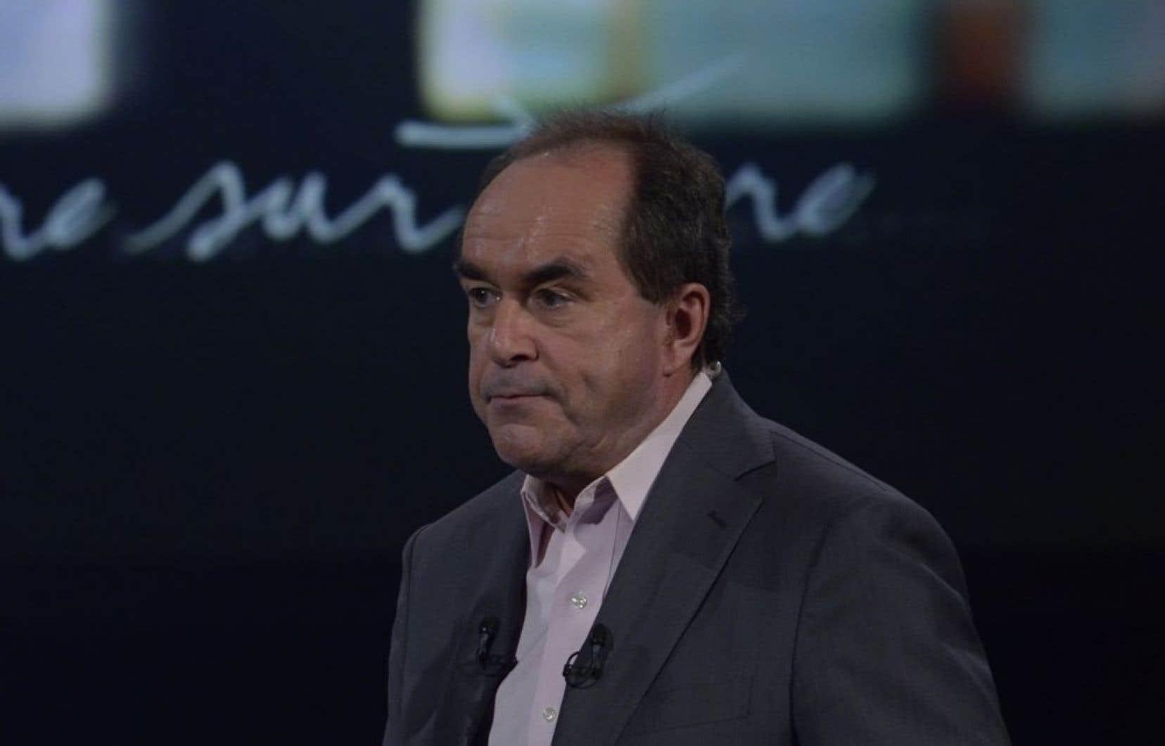 L'animateur et journaliste Jean-François Lépine quitte Radio-Canada après plus de 40 ans à la télévision publique.