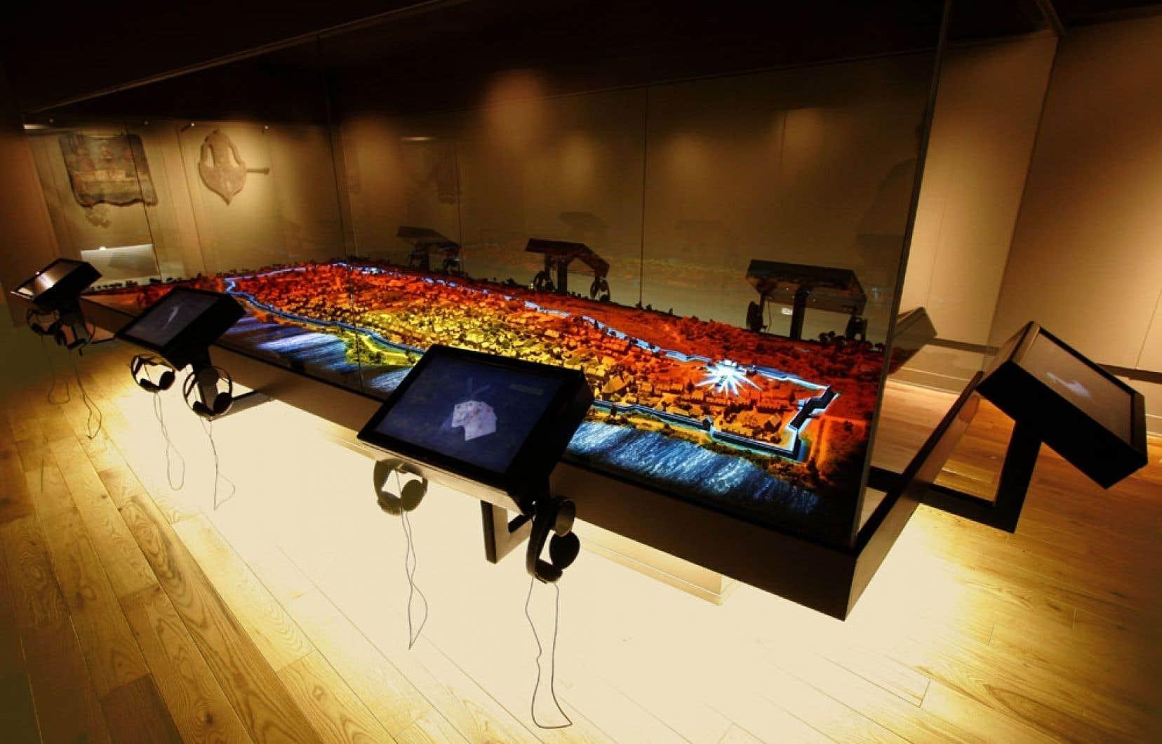 Musée Stewart - Une maquette interactive «reconstruit ...